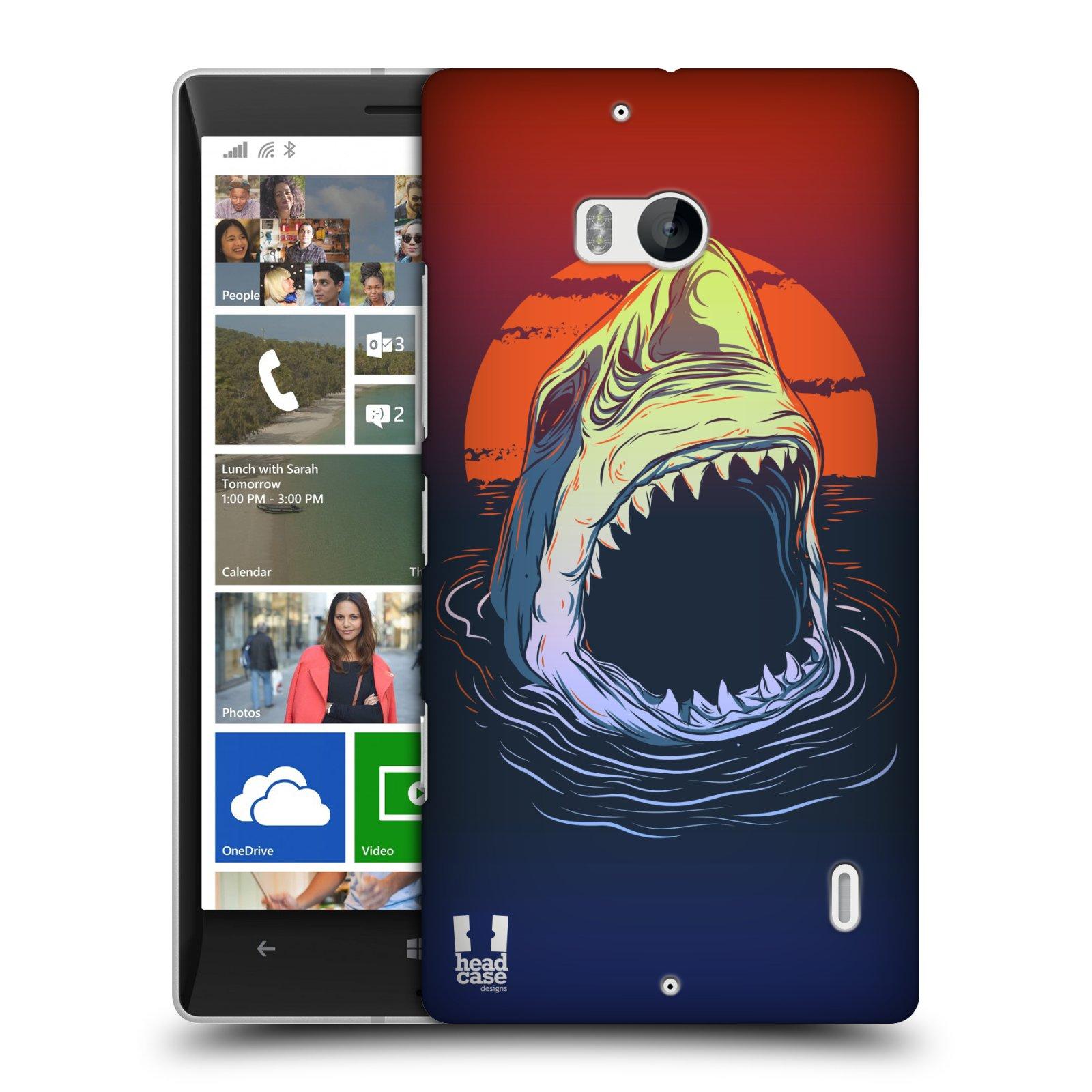 Plastové pouzdro na mobil Nokia Lumia 930 HEAD CASE HLADOVÝ ŽRALOK (Kryt či obal na mobilní telefon Nokia Lumia 930)