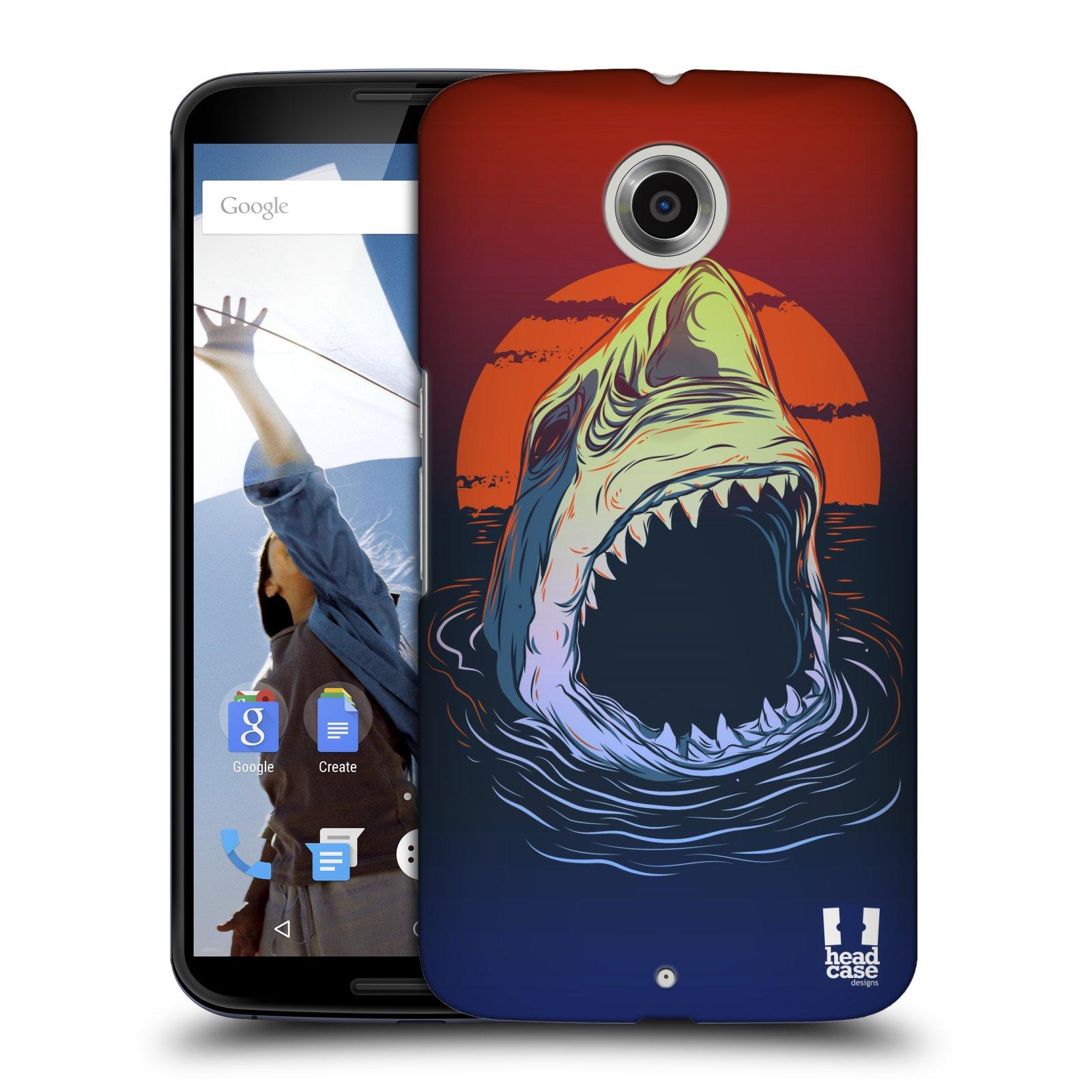 Plastové pouzdro na mobil Motorola Nexus 6 HEAD CASE HLADOVÝ ŽRALOK (Kryt či obal na mobilní telefon Motorola Nexus 6)