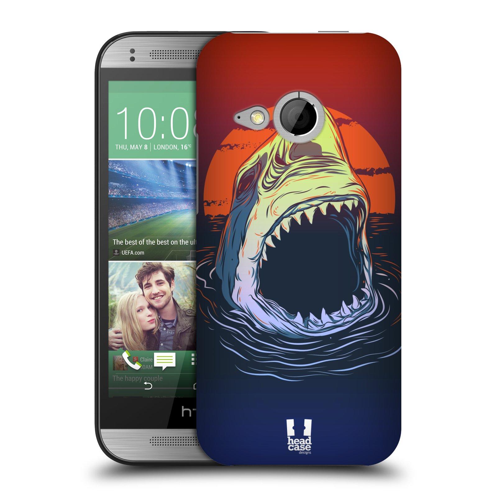 Plastové pouzdro na mobil HTC ONE Mini 2 HEAD CASE HLADOVÝ ŽRALOK (Kryt či obal na mobilní telefon HTC ONE Mini 2)