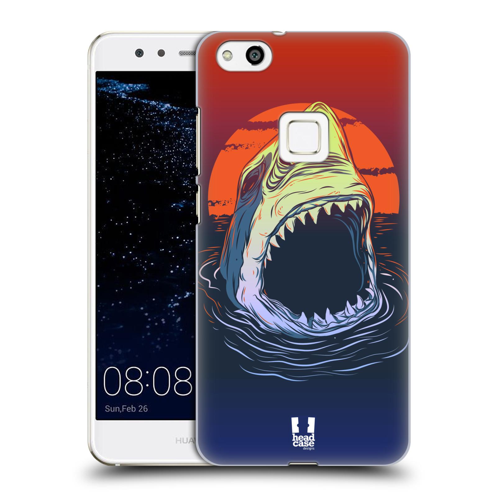 Plastové pouzdro na mobil Huawei P10 Lite Head Case - HLADOVÝ ŽRALOK (Plastový kryt či obal na mobilní telefon Huawei P10 Lite Dual SIM (LX1/LX1A))