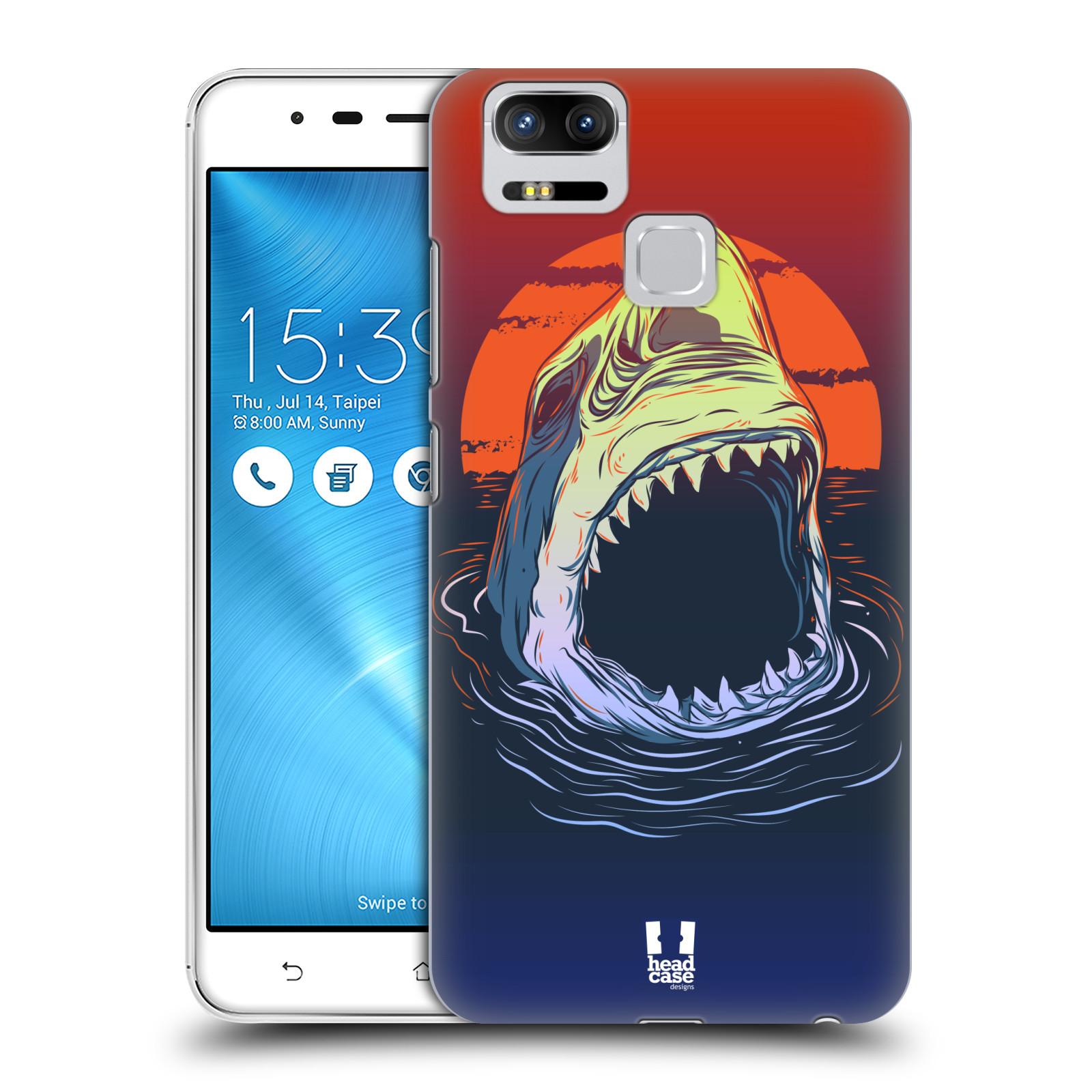 Plastové pouzdro na mobil Asus ZenFone 3 ZOOM ZE553KL - Head Case - HLADOVÝ ŽRALOK (Plastový kryt či obal na mobilní telefon Asus ZenFone 3 ZOOM ZE553KL s motivem HLADOVÝ ŽRALOK)