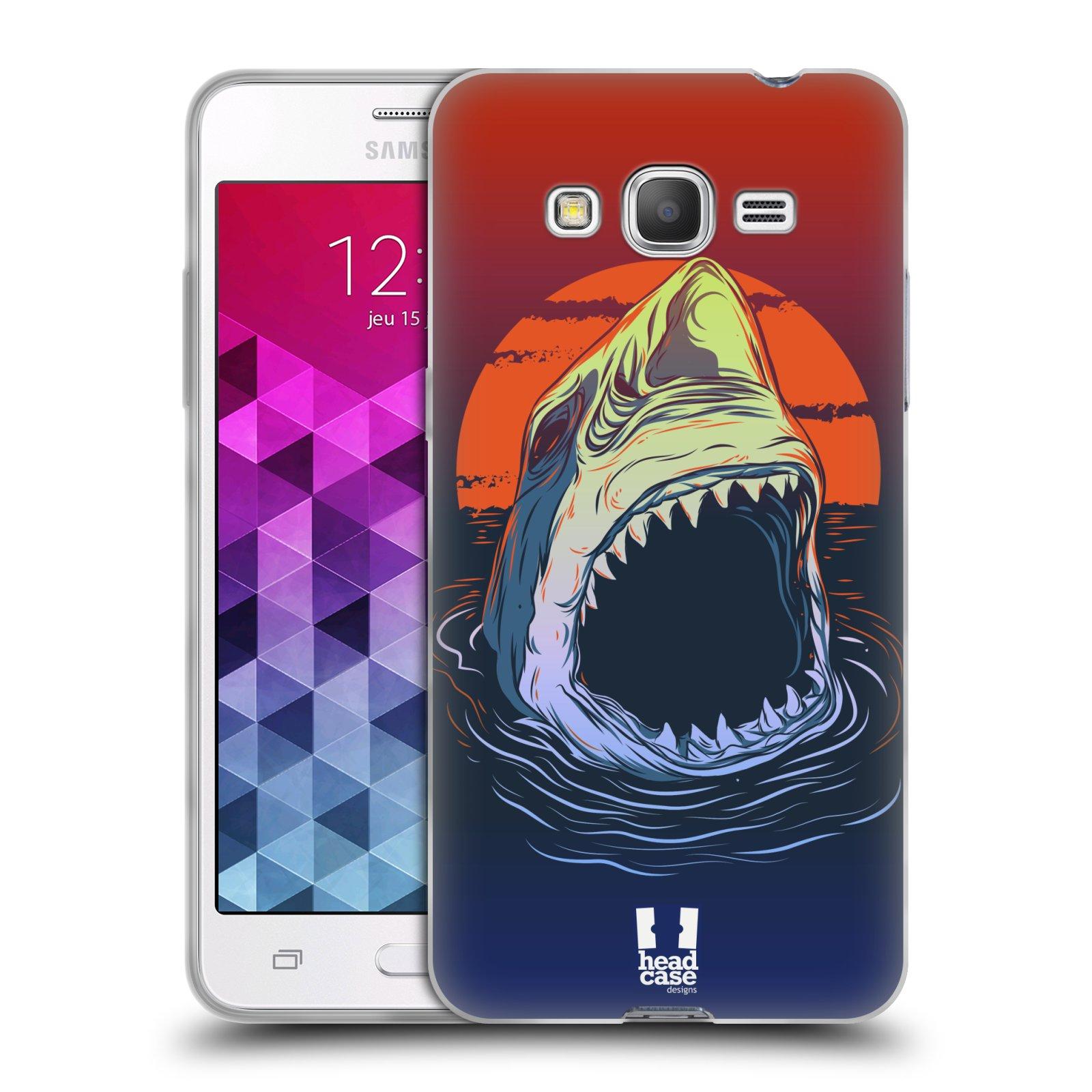 Silikonové pouzdro na mobil Samsung Galaxy Grand Prime VE HEAD CASE HLADOVÝ ŽRALOK (Silikonový kryt či obal na mobilní telefon Samsung Galaxy Grand Prime VE SM-G531F)