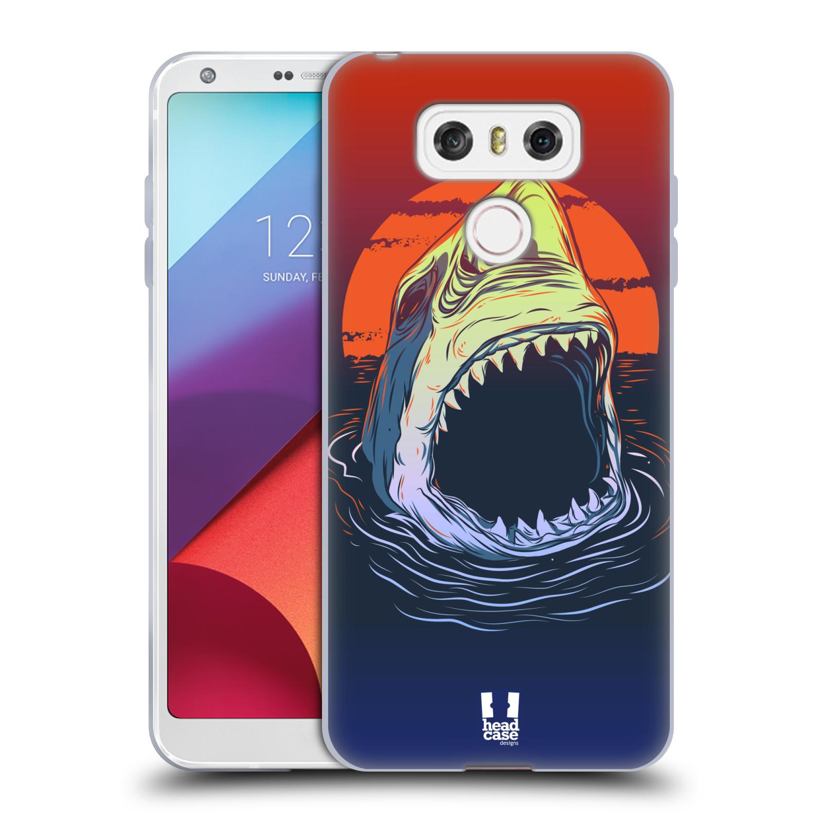 Silikonové pouzdro na mobil LG G6 - Head Case HLADOVÝ ŽRALOK (Silikonový kryt či obal na mobilní telefon LG G6 H870 / LG G6 Dual SIM H870DS)