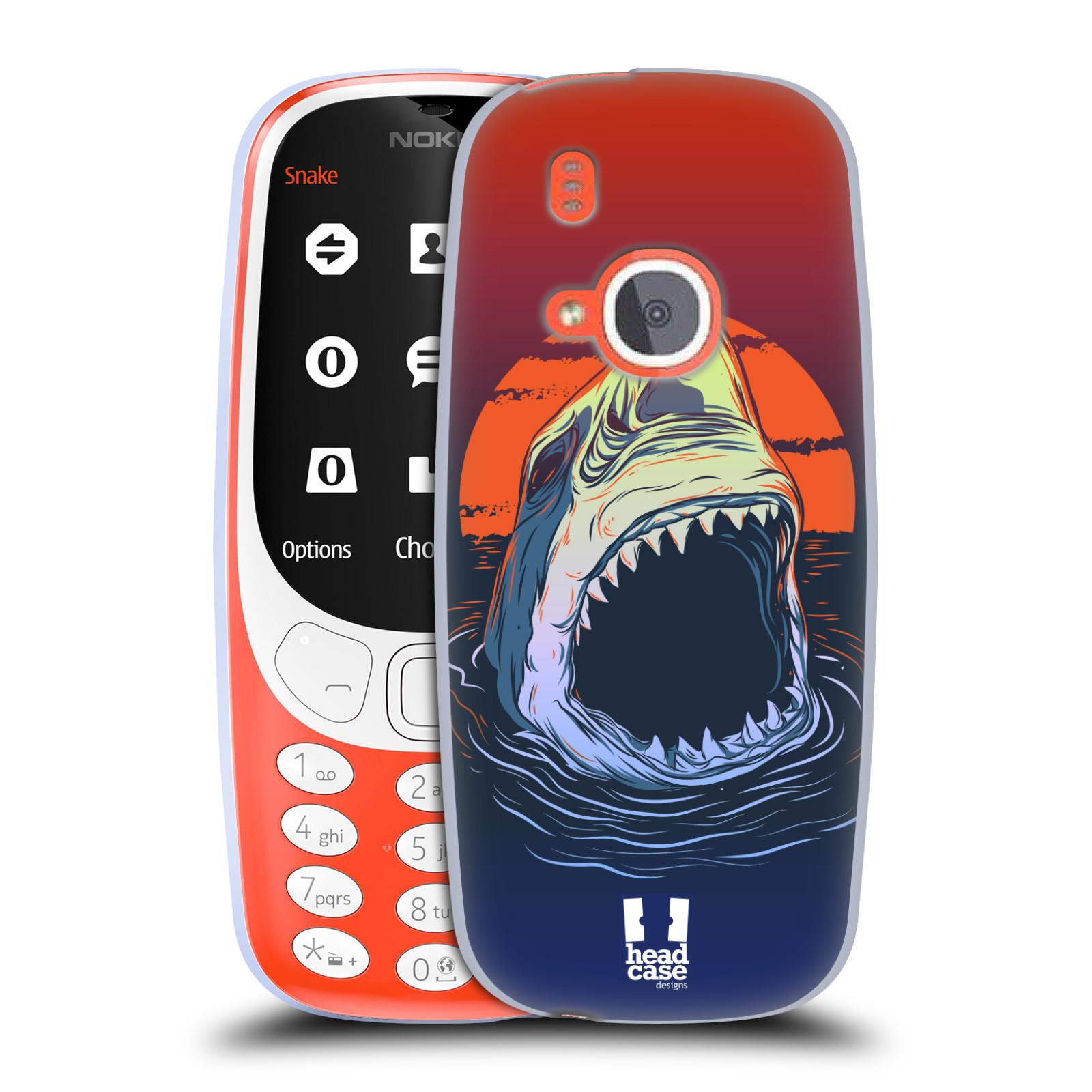 Silikonové pouzdro na mobil Nokia 3310 - Head Case - HLADOVÝ ŽRALOK (Silikonový kryt či obal na mobilní telefon Nokia 3310 (2017) s motivem HLADOVÝ ŽRALOK)