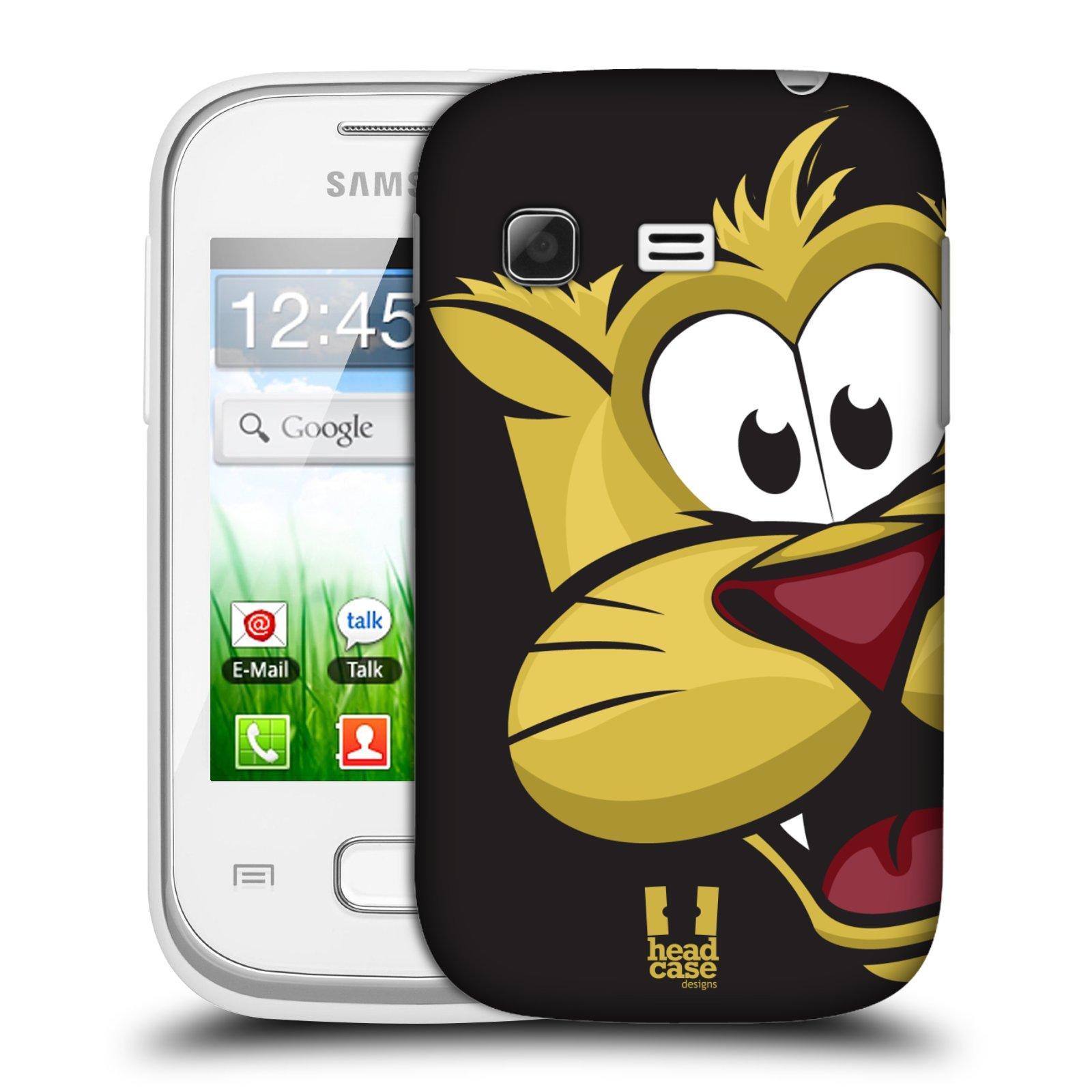 Plastové pouzdro na mobil Samsung Galaxy Pocket HEAD CASE ROZTOMILÝ TYGŘÍK (Kryt či obal na mobilní telefon Samsung Galaxy Pocket GT-S5300)