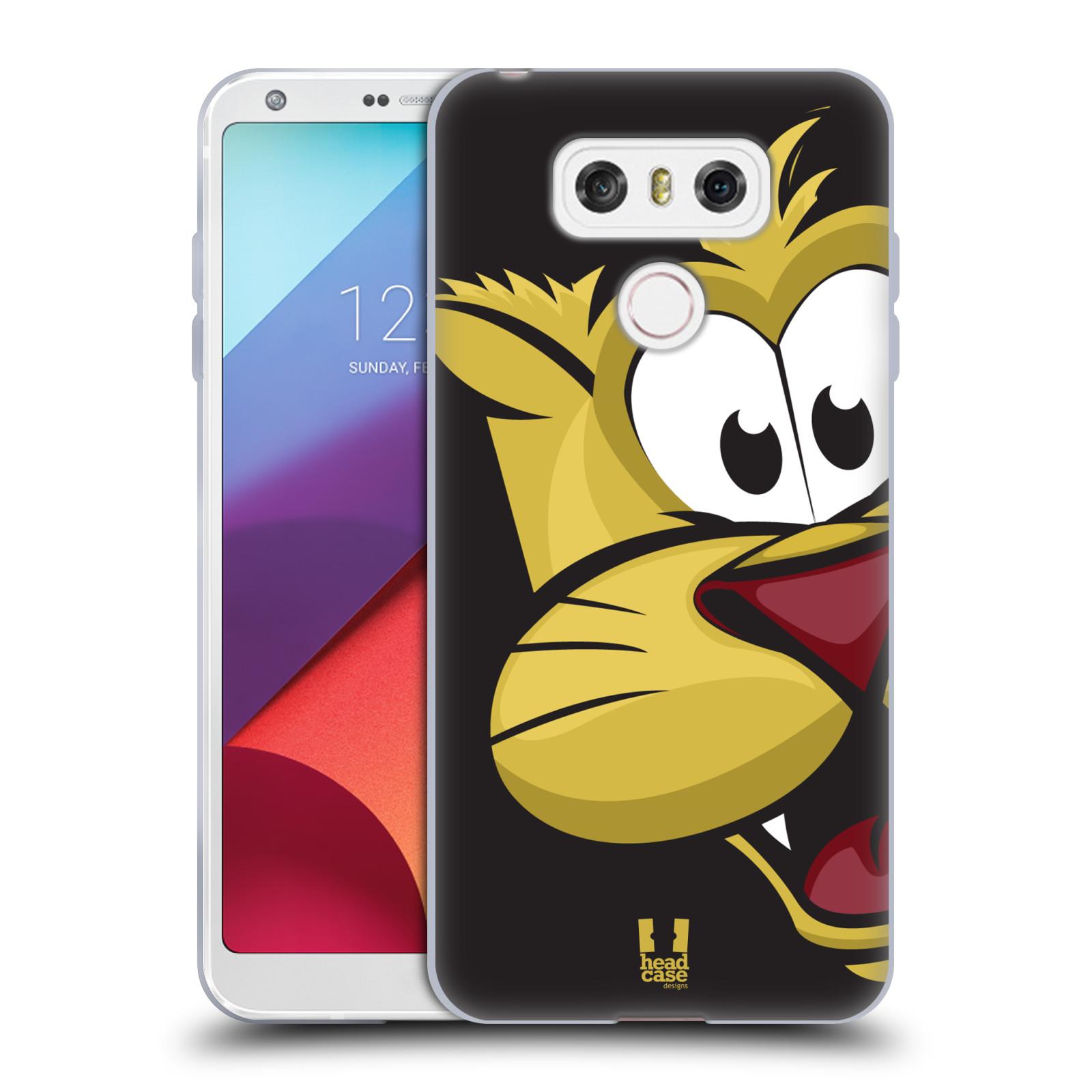 Silikonové pouzdro na mobil LG G6 - Head Case ROZTOMILÝ TYGŘÍK (Silikonový kryt či obal na mobilní telefon LG G6 H870 / LG G6 Dual SIM H870DS)