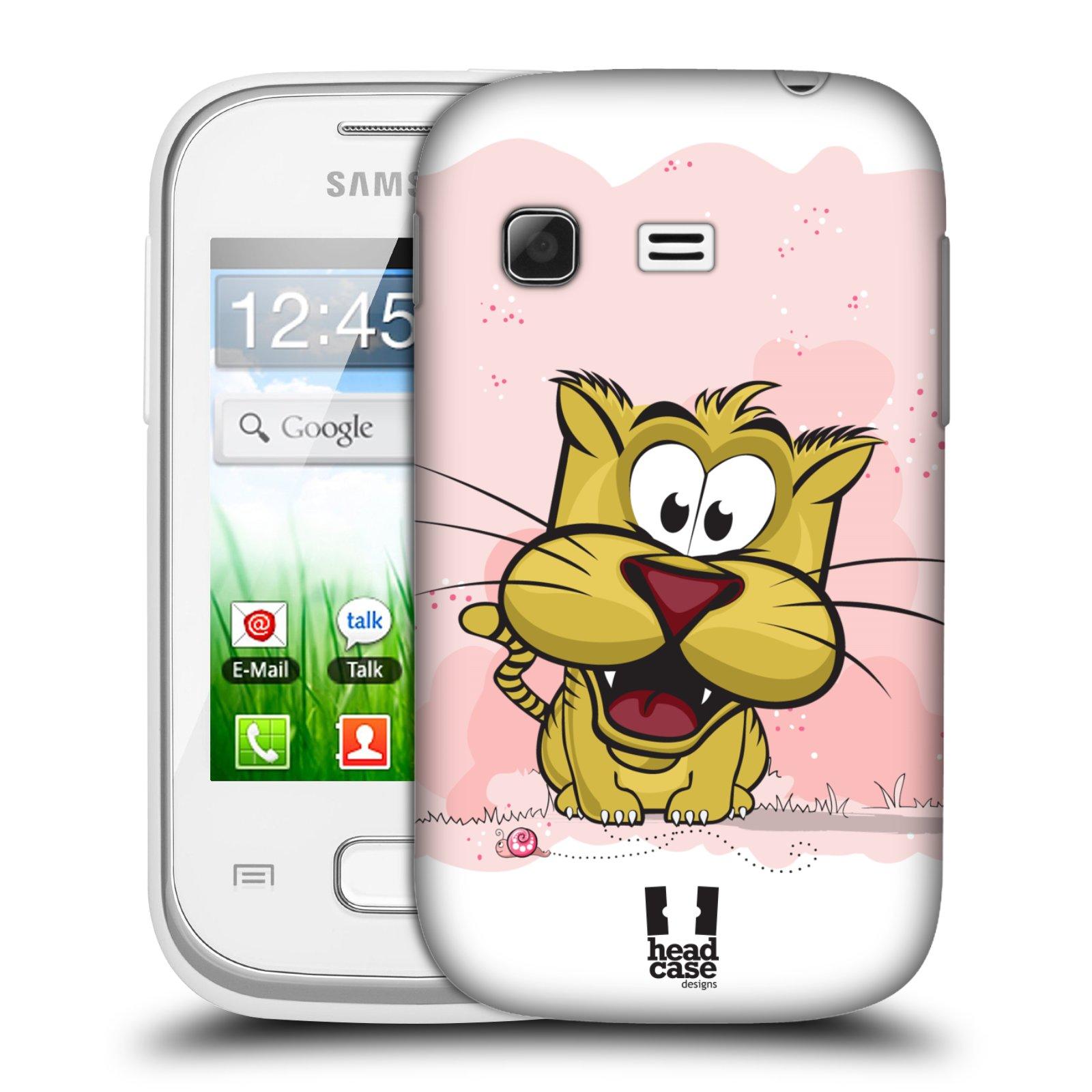 Plastové pouzdro na mobil Samsung Galaxy Pocket HEAD CASE CELÝ TYGŘÍK (Kryt či obal na mobilní telefon Samsung Galaxy Pocket GT-S5300)