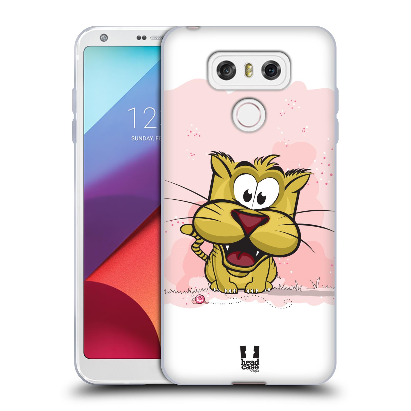 Silikonové pouzdro na mobil LG G6 - Head Case CELÝ TYGŘÍK (Silikonový kryt či obal na mobilní telefon LG G6 H870 / LG G6 Dual SIM H870DS)