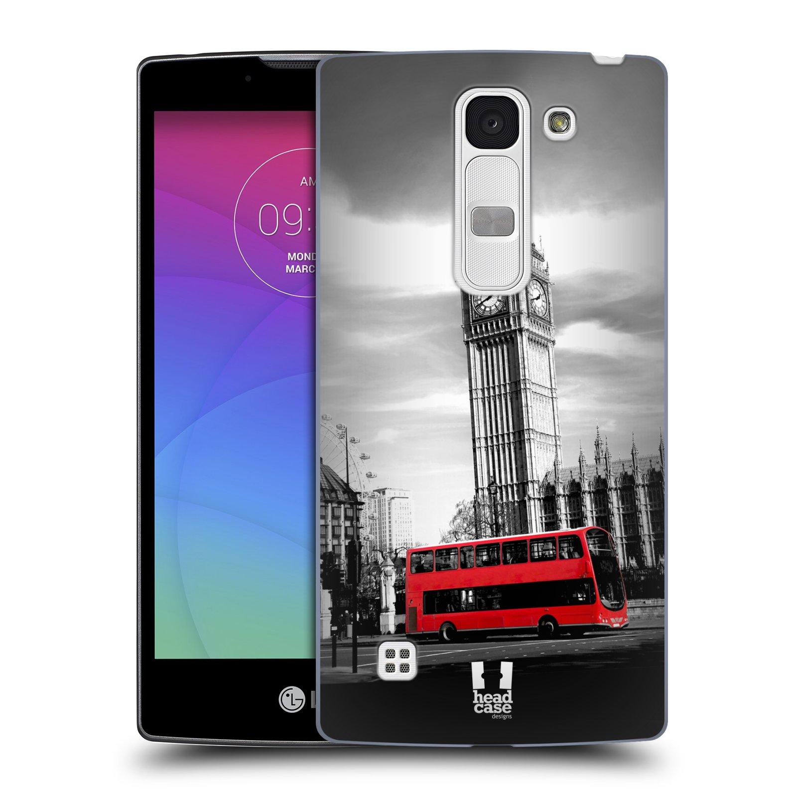 Plastové pouzdro na mobil LG Spirit LTE HEAD CASE BIG BEN (Kryt či obal na mobilní telefon LG Spirit H420 a LG Spirit LTE H440N)