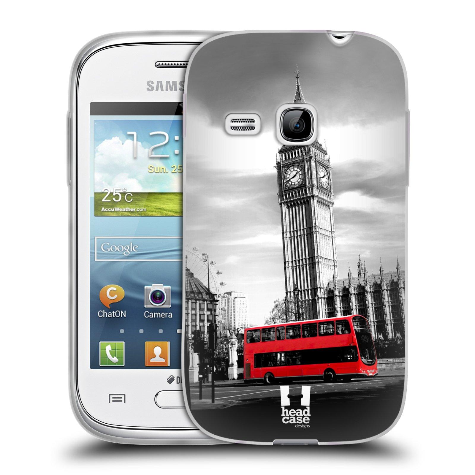 Silikonové pouzdro na mobil Samsung Galaxy Young HEAD CASE BIG BEN (Silikonový kryt či obal na mobilní telefon Samsung Galaxy Young GT-S6310)