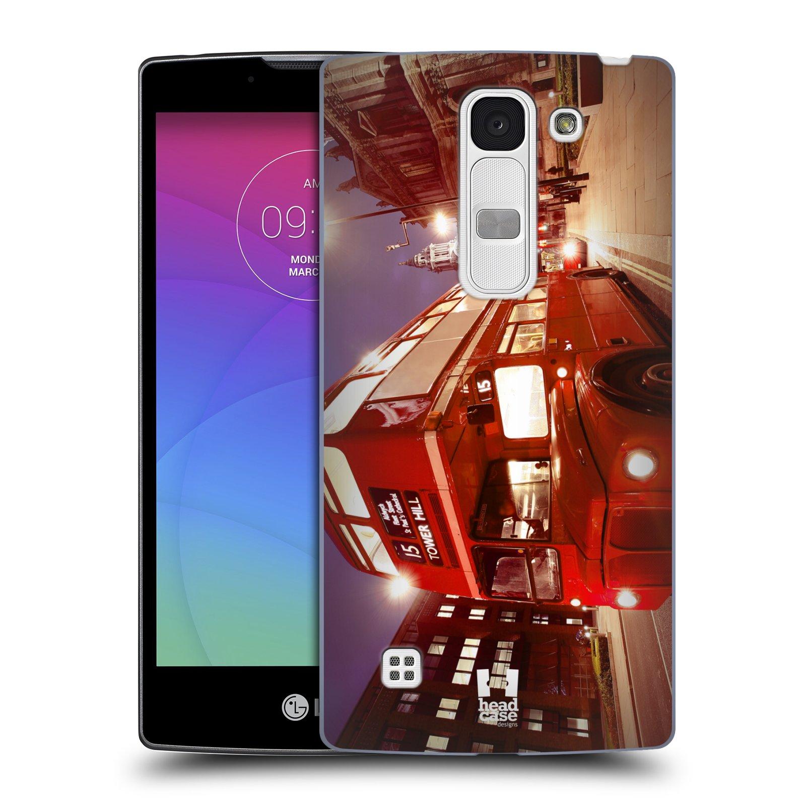 Plastové pouzdro na mobil LG Spirit LTE HEAD CASE DOUBLE DECKER (Kryt či obal na mobilní telefon LG Spirit H420 a LG Spirit LTE H440N)