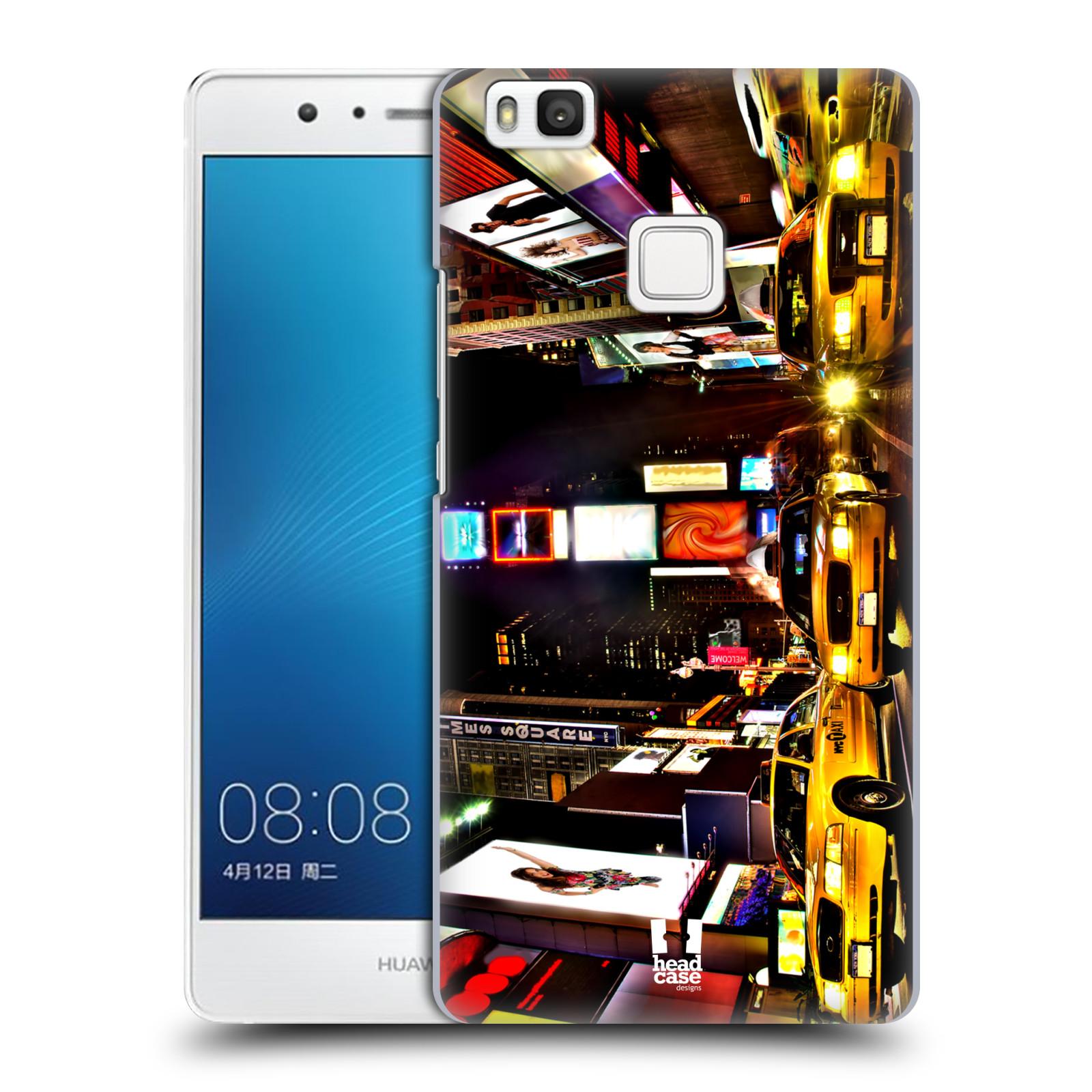 Plastové pouzdro na mobil Huawei P9 Lite HEAD CASE NEW YORK TIMES SQUARE