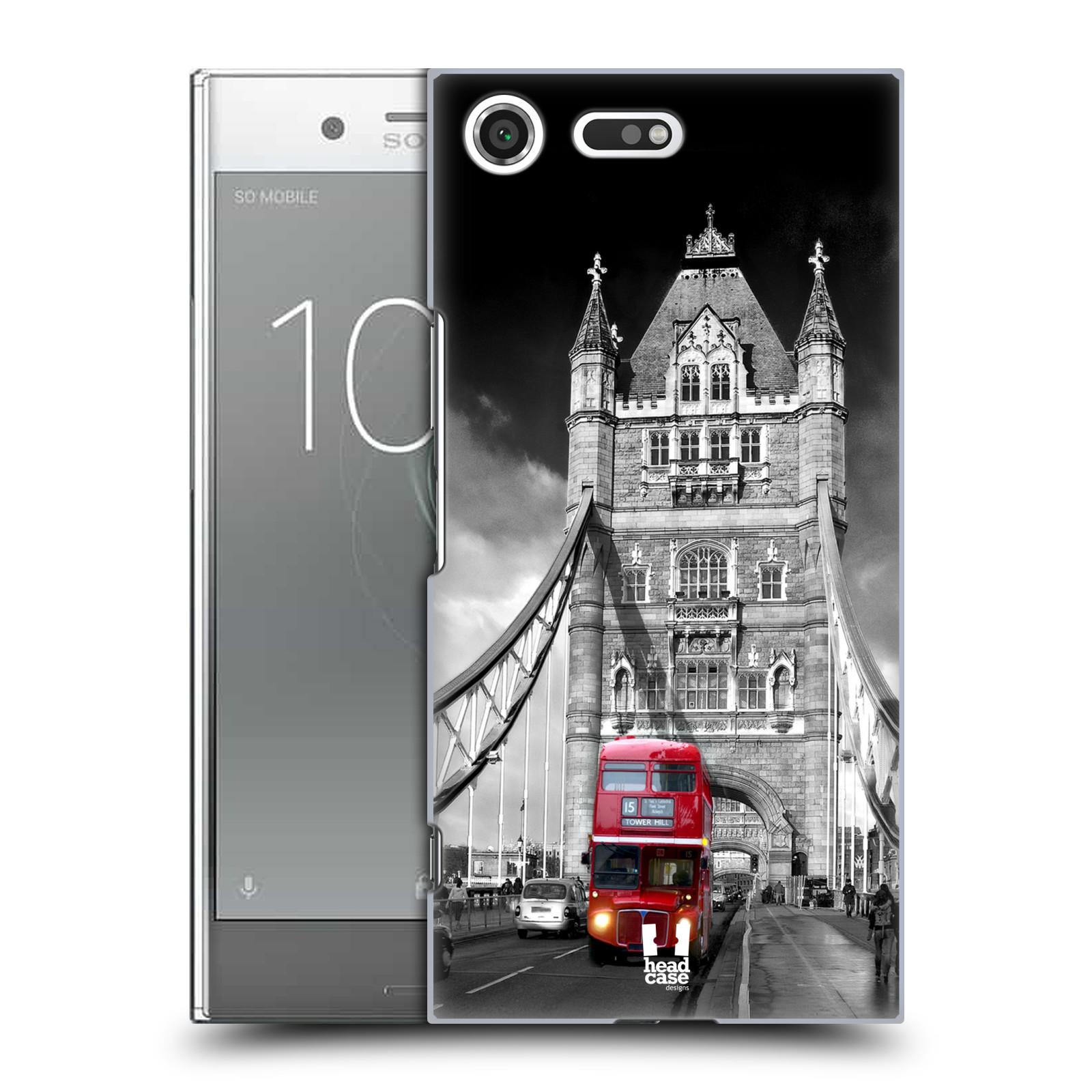 Plastové pouzdro na mobil Sony Xperia XZ Premium Head Case - MOST V LONDÝNĚ (Plastový kryt či obal na mobilní telefon Sony Xperia XZ Premium G8142)