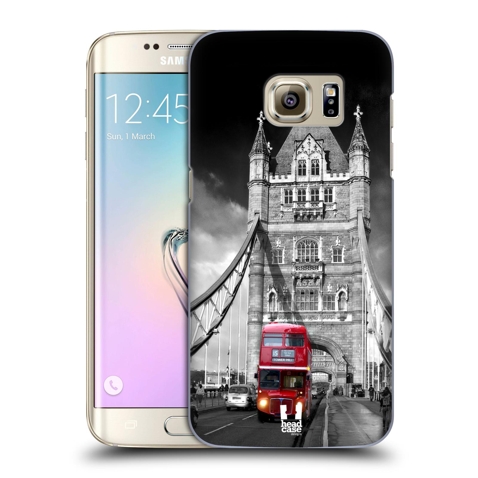 Plastové pouzdro na mobil Samsung Galaxy S7 Edge HEAD CASE MOST V LONDÝNĚ (Kryt či obal na mobilní telefon Samsung Galaxy S7 Edge SM-G935F)