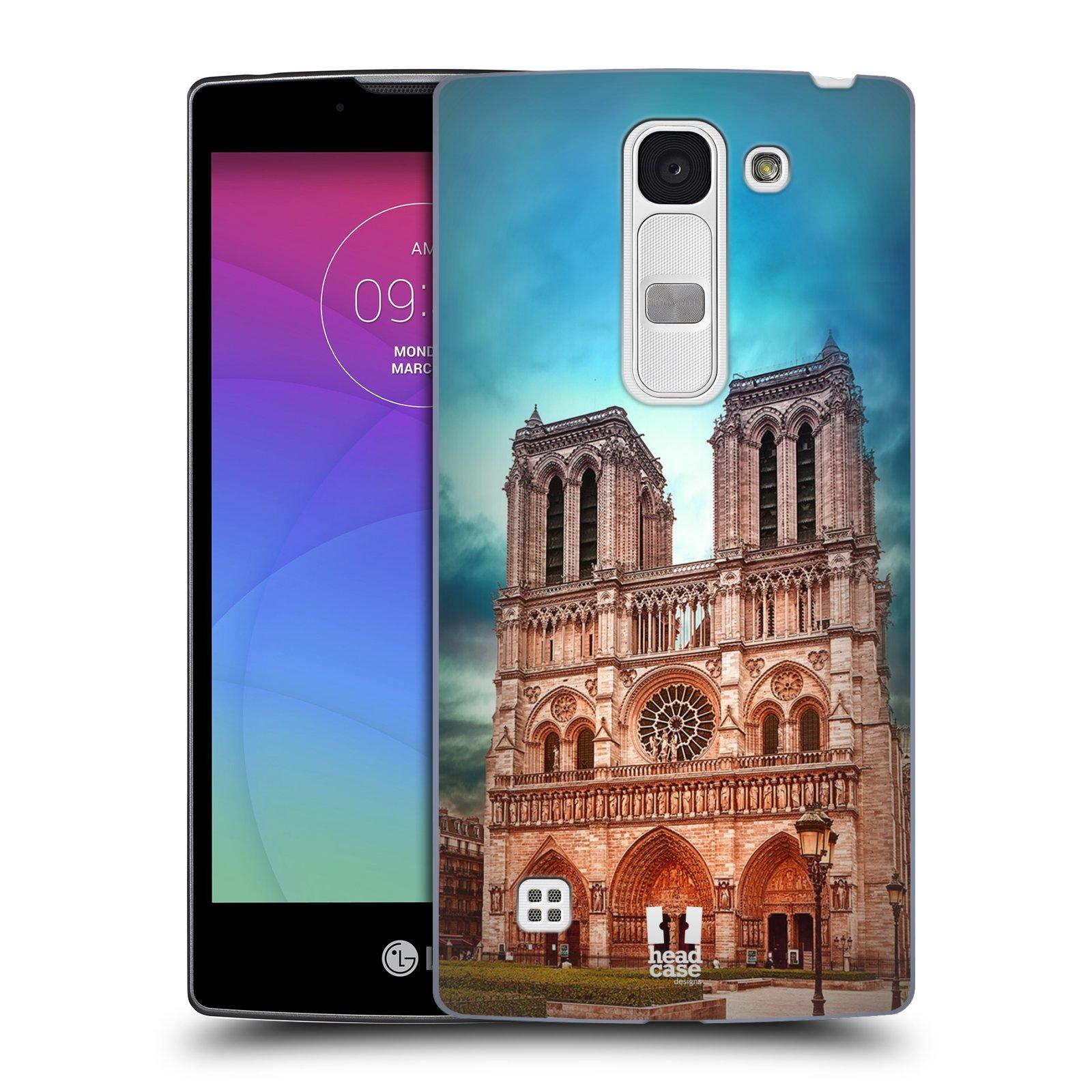 Plastové pouzdro na mobil LG Spirit LTE HEAD CASE NOTRE DAME (Kryt či obal na mobilní telefon LG Spirit H420 a LG Spirit LTE H440N)
