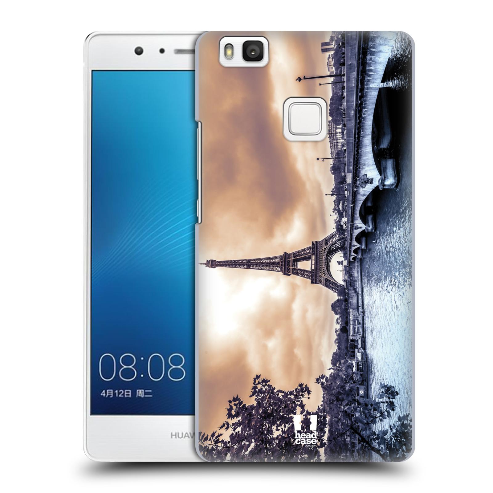 Plastové pouzdro na mobil Huawei P9 Lite HEAD CASE SUNSET SKYLINE PAŘÍŽ f2ca3bf34b9