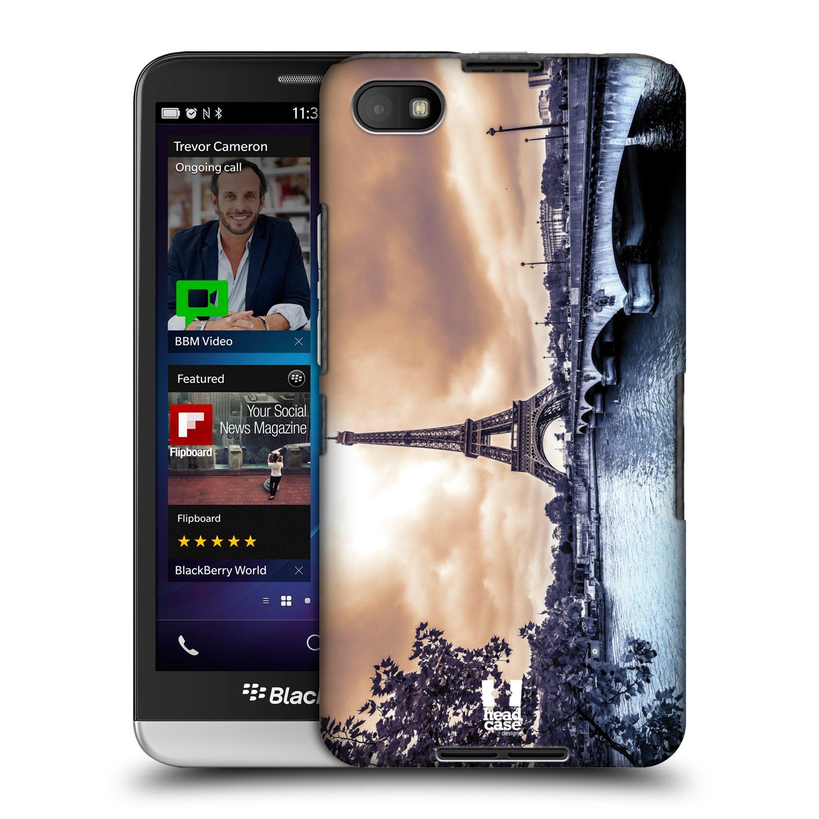 Plastové pouzdro na mobil Blackberry Z30 HEAD CASE SUNSET SKYLINE PAŘÍŽ (Kryt či obal na mobilní telefon Blackberry Z30)