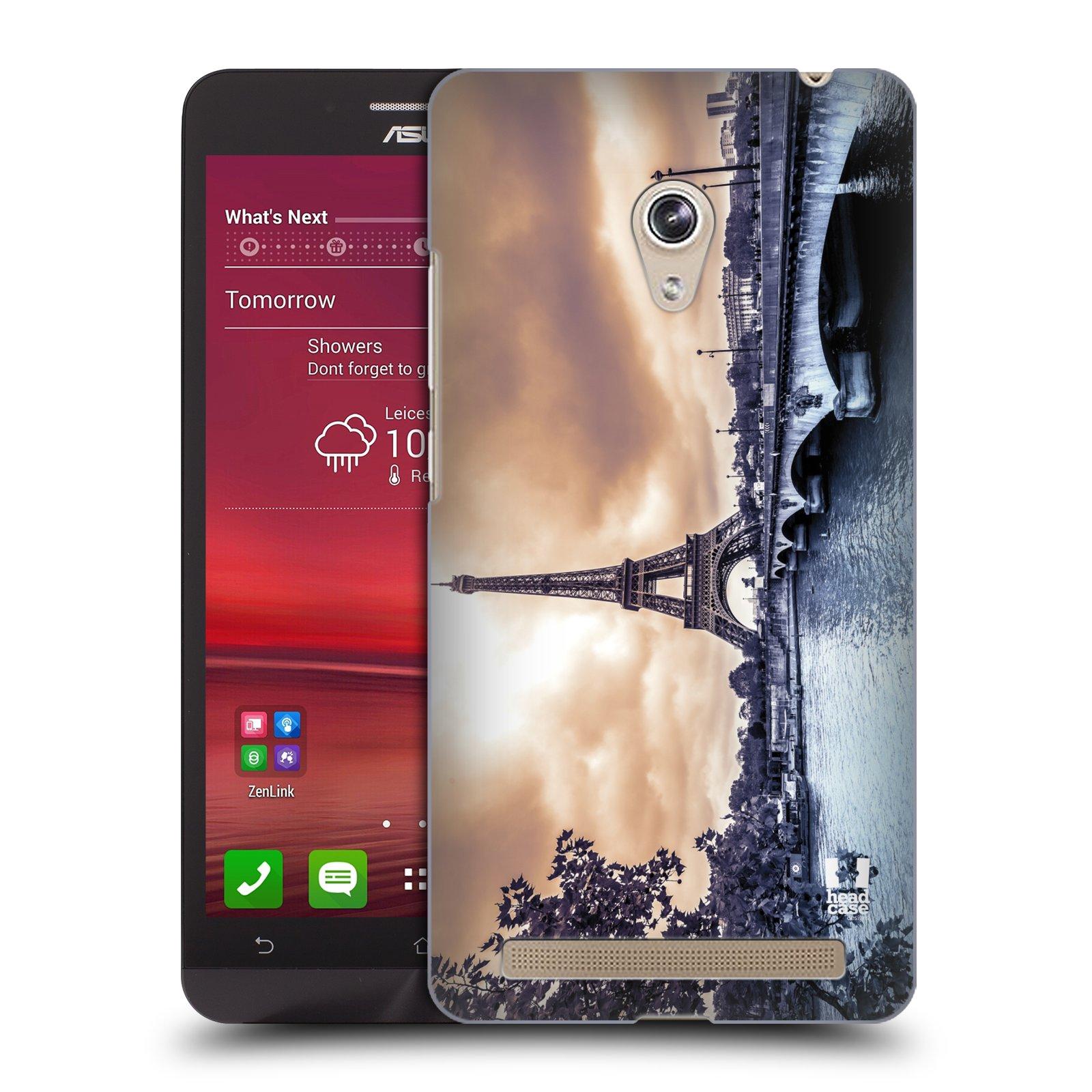Plastové pouzdro na mobil Asus Zenfone 6 HEAD CASE SUNSET SKYLINE PAŘÍŽ (Kryt či obal na mobilní telefon Asus Zenfone 6 A600CG / A601CG)