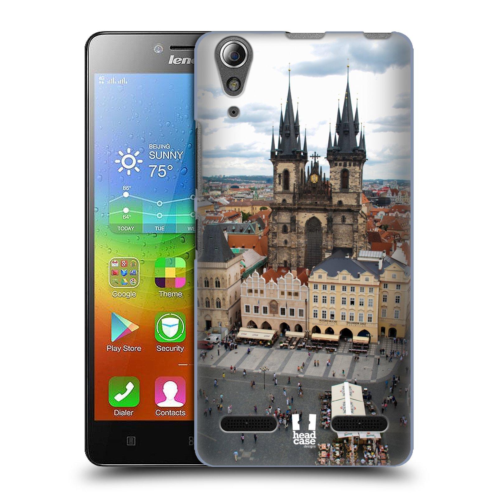 Plastové pouzdro na mobil Lenovo A6000 HEAD CASE STAROMĚSTSKÉ NÁMĚSTÍ (Kryt či obal na mobilní telefon Lenovo A6000 / A6000 Plus)