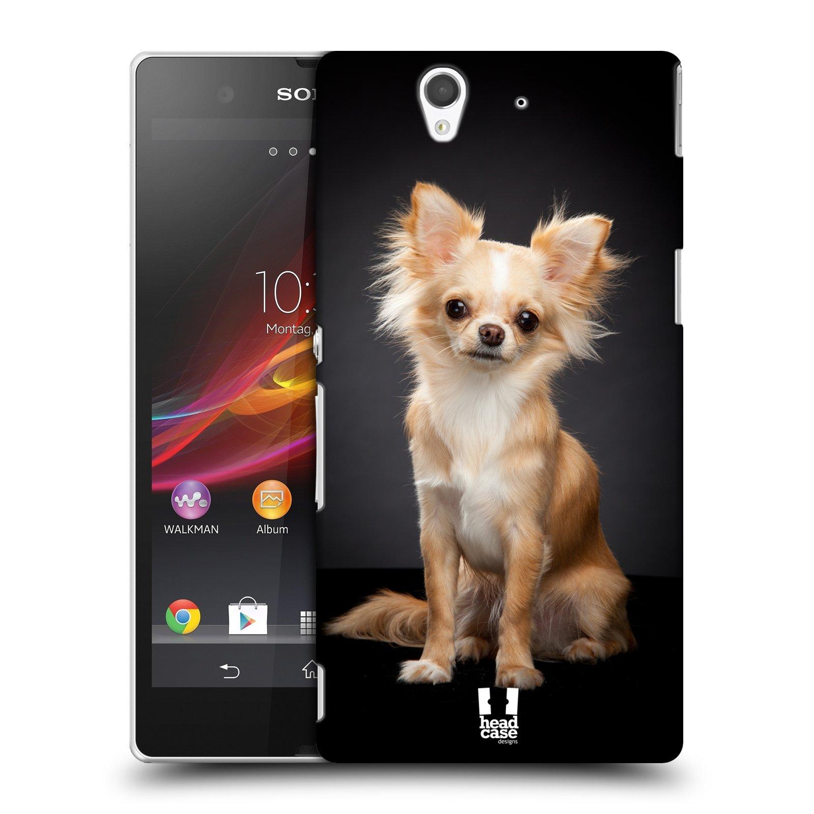Plastové pouzdro na mobil Sony Xperia Z C6603 HEAD CASE ČIVAVA (Kryt či obal na mobilní telefon Sony Xperia Z )