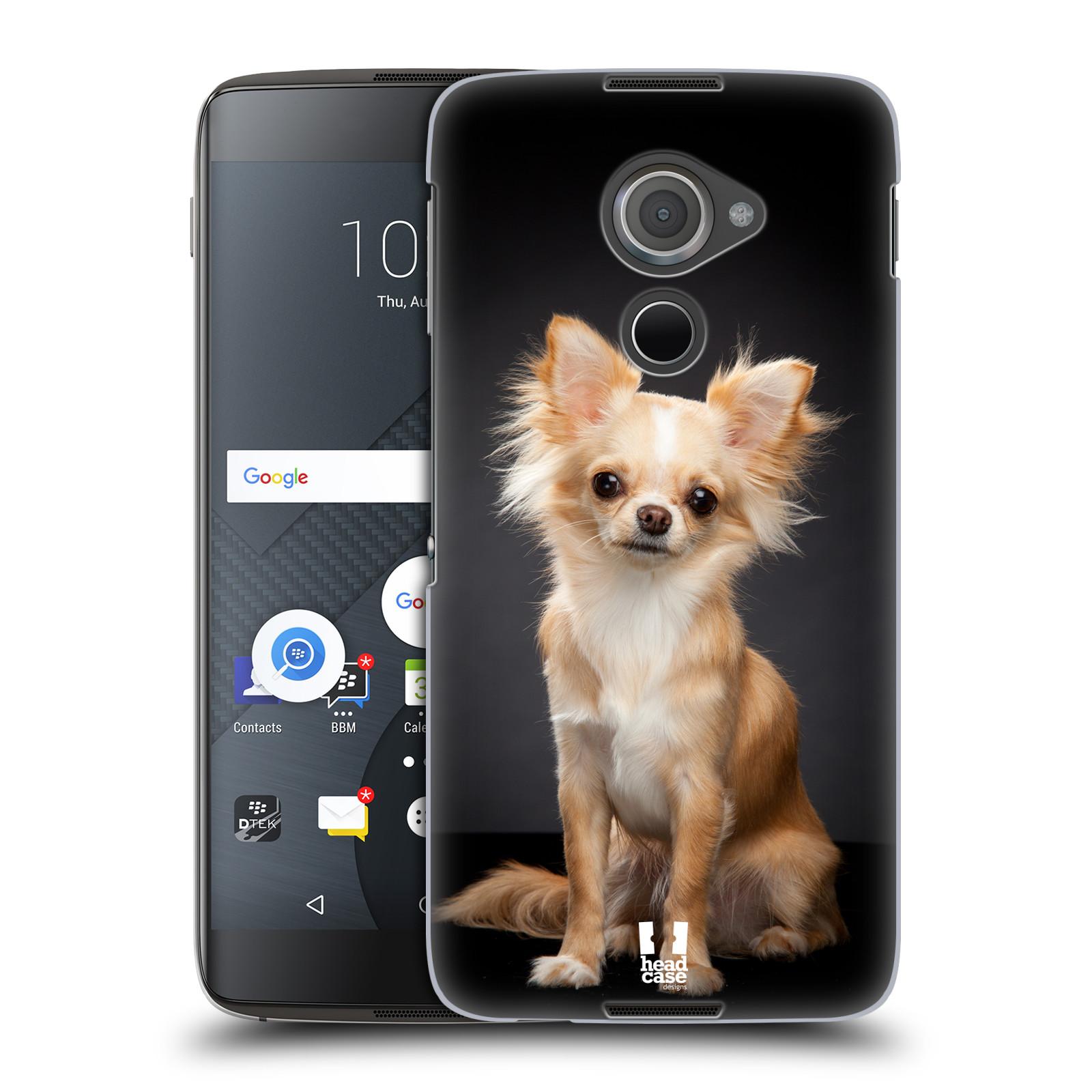 Plastové pouzdro na mobil Blackberry DTEK60 (Argon) - Head Case ČIVAVA (Plastový kryt či obal na mobilní telefon Blackberry DTEK60 (Argon))