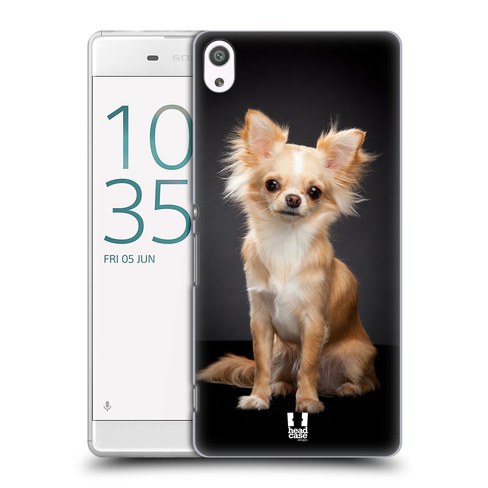 Plastové pouzdro na mobil Sony Xperia XA Ultra HEAD CASE ČIVAVA