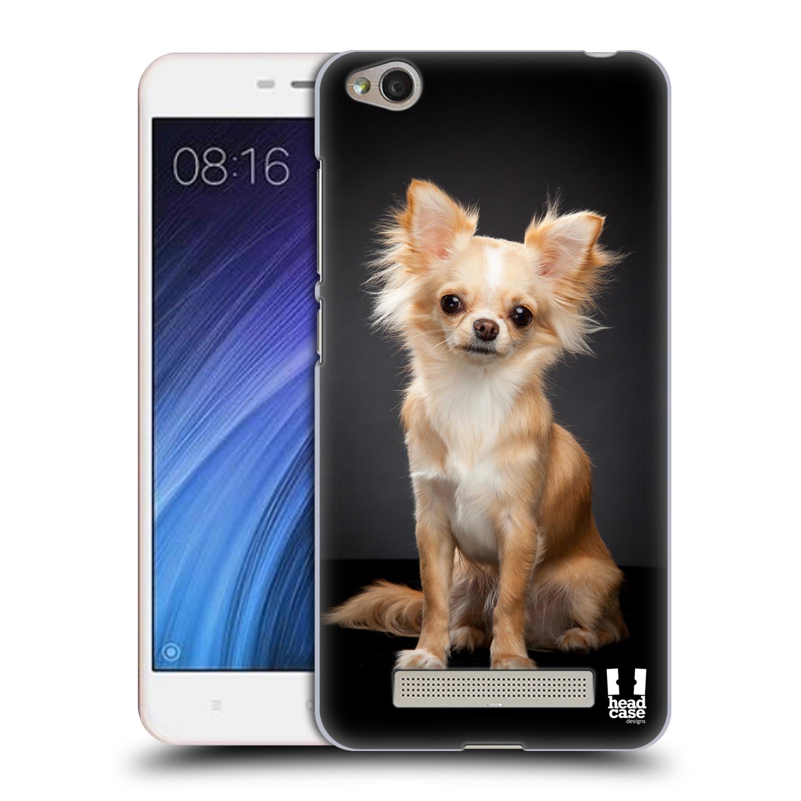 Plastové pouzdro na mobil Xiaomi Redmi 4A HEAD CASE ČIVAVA