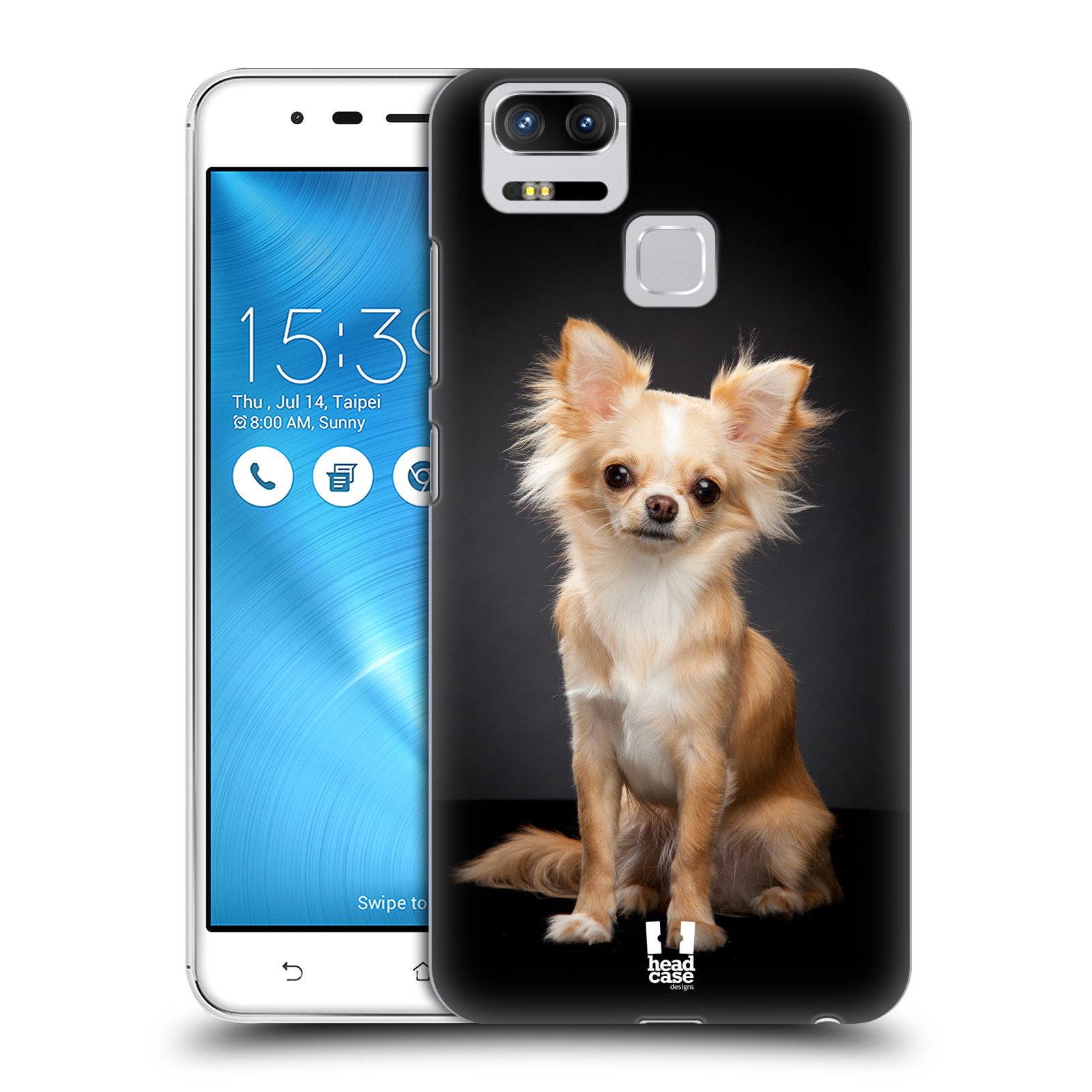 Plastové pouzdro na mobil Asus ZenFone 3 ZOOM ZE553KL - Head Case - ČIVAVA (Plastový kryt či obal na mobilní telefon Asus ZenFone 3 ZOOM ZE553KL s motivem ČIVAVA)