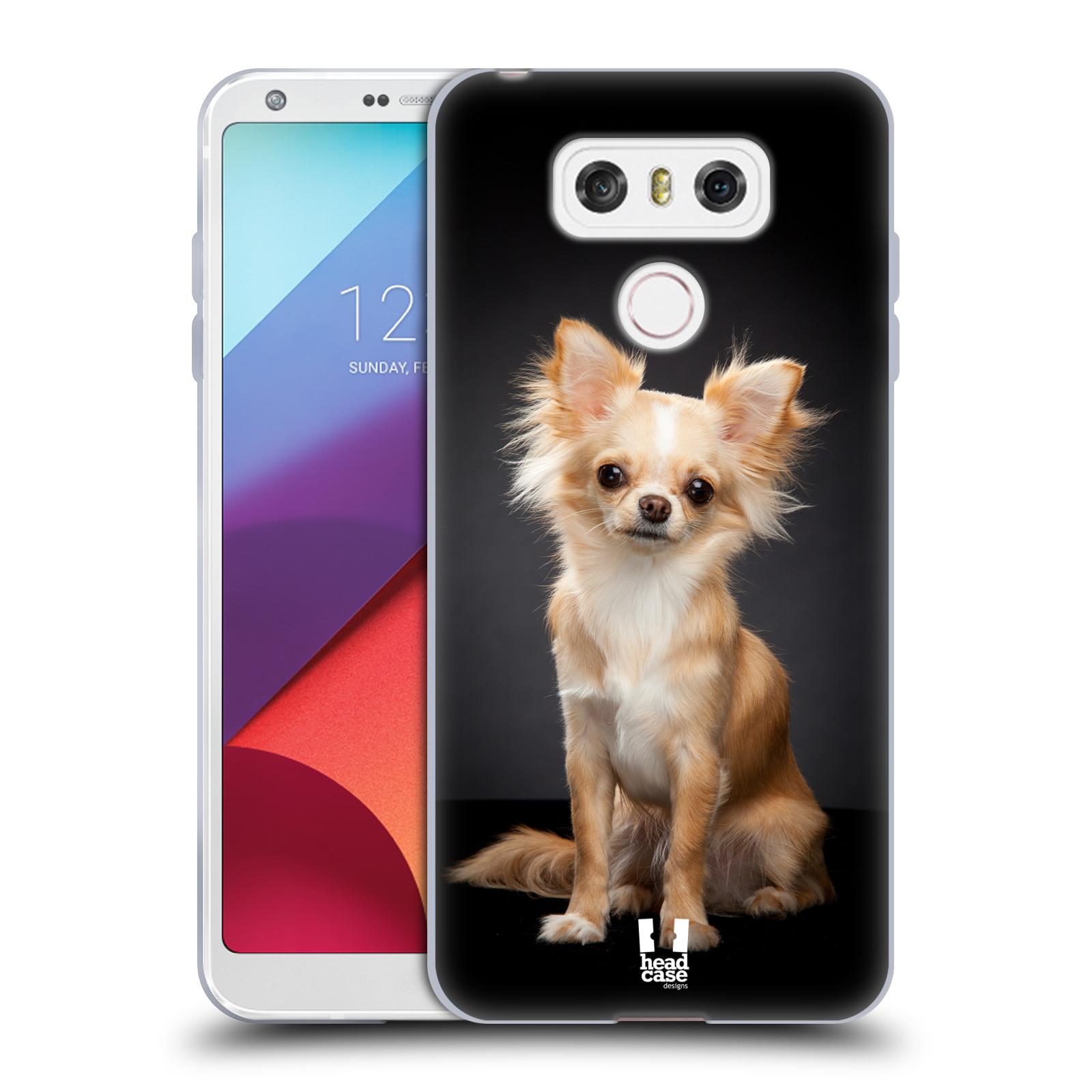 Silikonové pouzdro na mobil LG G6 - Head Case ČIVAVA (Silikonový kryt či obal na mobilní telefon LG G6 H870 / LG G6 Dual SIM H870DS)