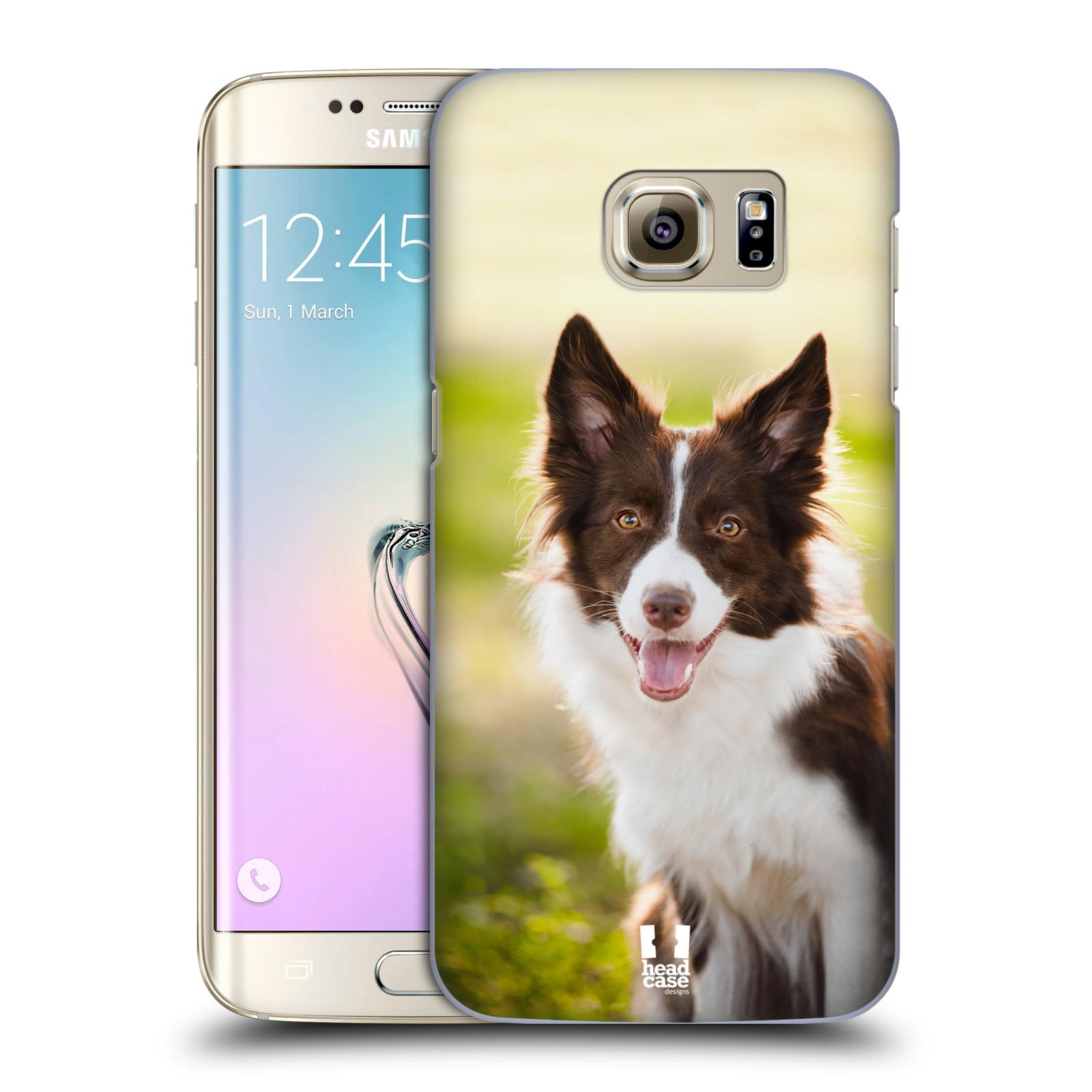 Plastové pouzdro na mobil Samsung Galaxy S7 Edge HEAD CASE BORDER KÓLIE (Kryt či obal na mobilní telefon Samsung Galaxy S7 Edge SM-G935F)