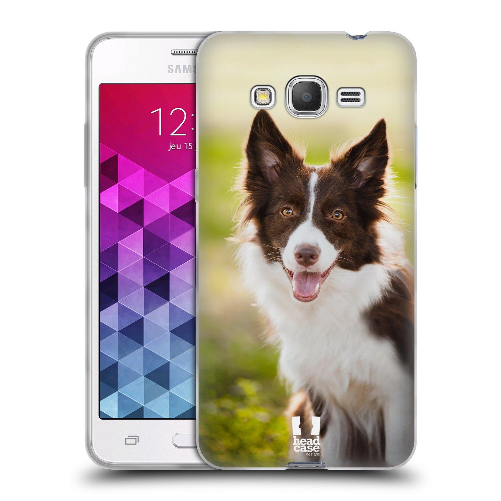 Silikonové pouzdro na mobil Samsung Galaxy Grand Prime VE HEAD CASE BORDER KÓLIE