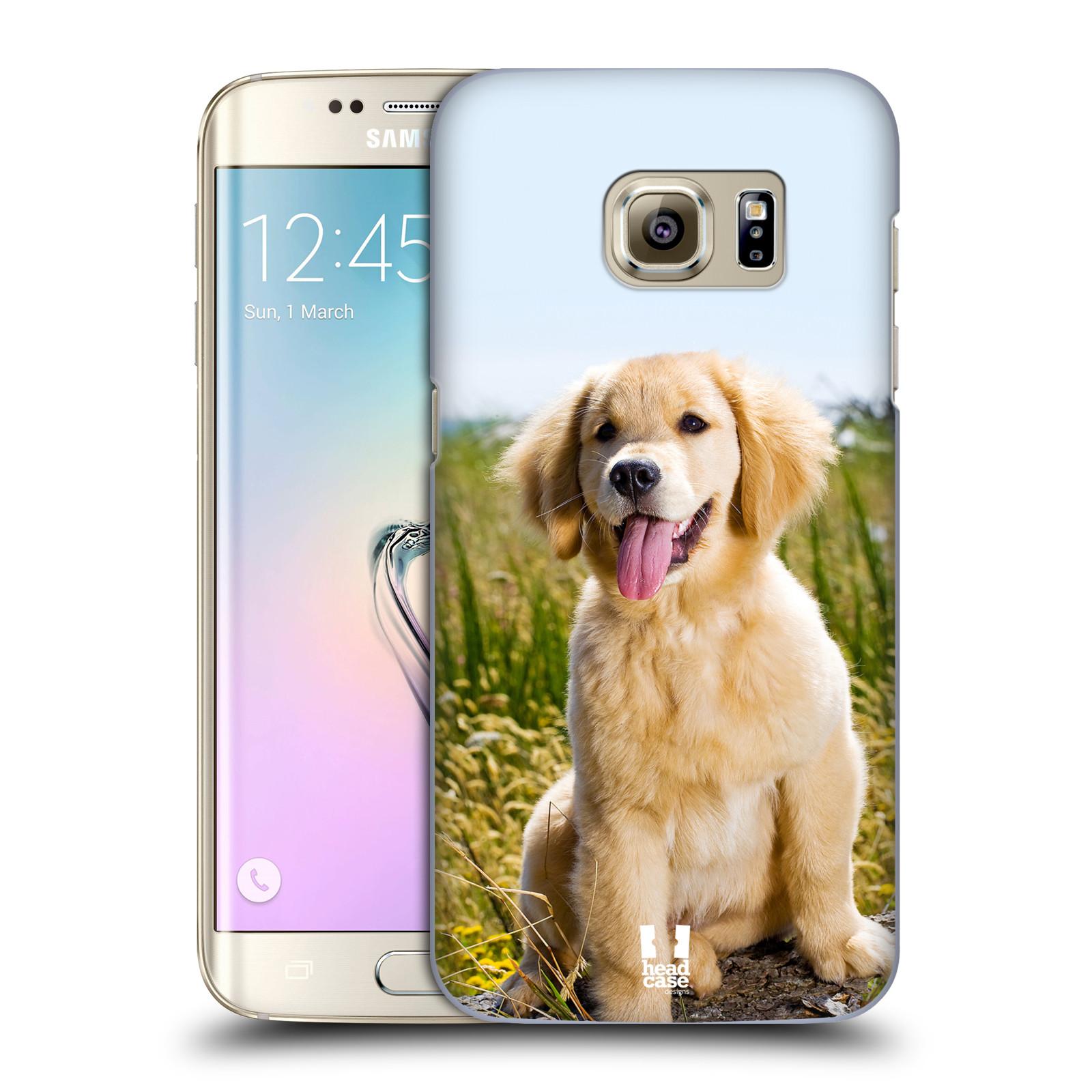 Plastové pouzdro na mobil Samsung Galaxy S7 Edge HEAD CASE RETRÍVR (Kryt či obal na mobilní telefon Samsung Galaxy S7 Edge SM-G935F)