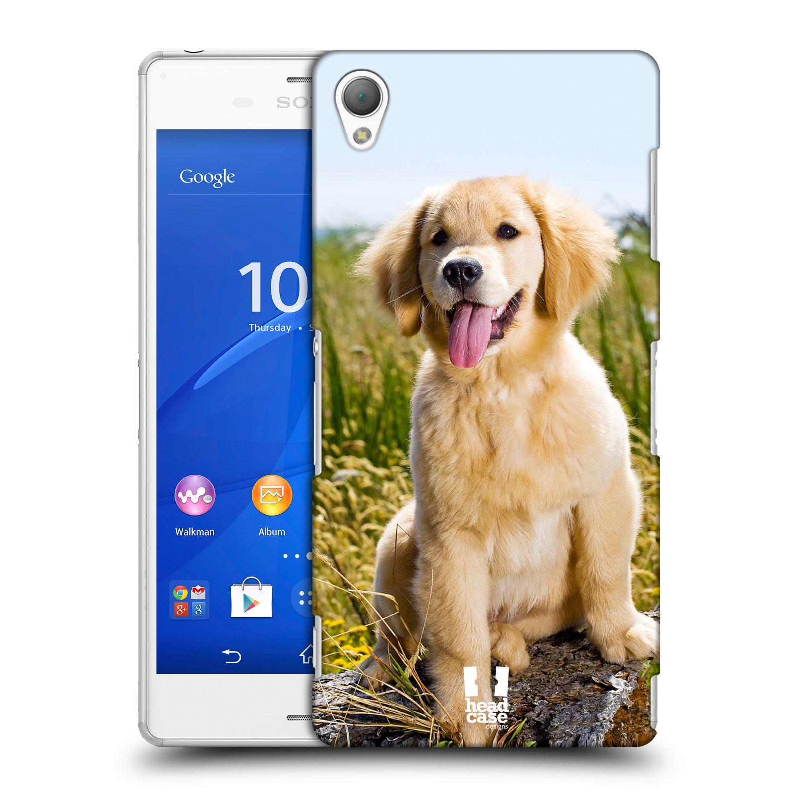Plastové pouzdro na mobil Sony Xperia Z3 D6603 HEAD CASE RETRÍVR (Kryt či obal na mobilní telefon Sony Xperia Z3 )