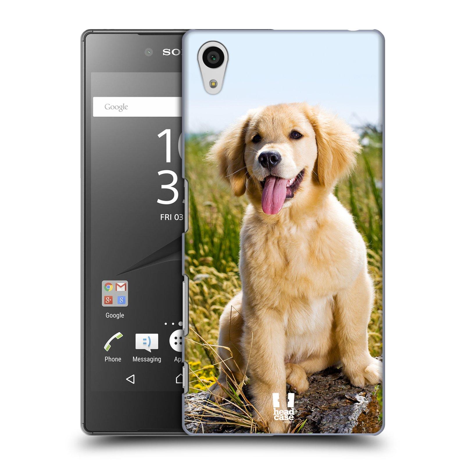 Plastové pouzdro na mobil Sony Xperia Z5 HEAD CASE RETRÍVR (Kryt či obal na mobilní telefon Sony Xperia Z5 E6653)