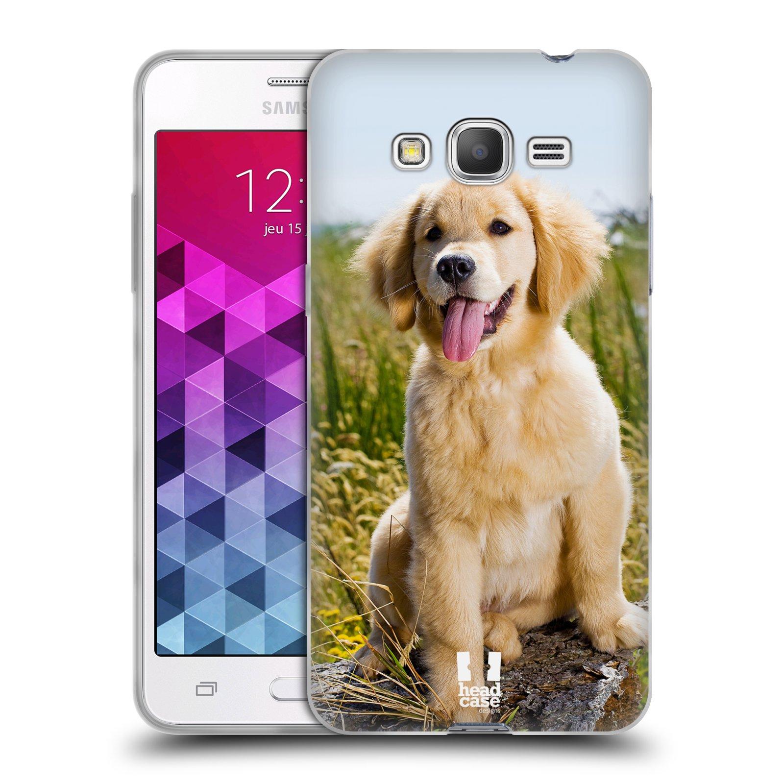 Silikonové pouzdro na mobil Samsung Galaxy Grand Prime VE HEAD CASE RETRÍVR