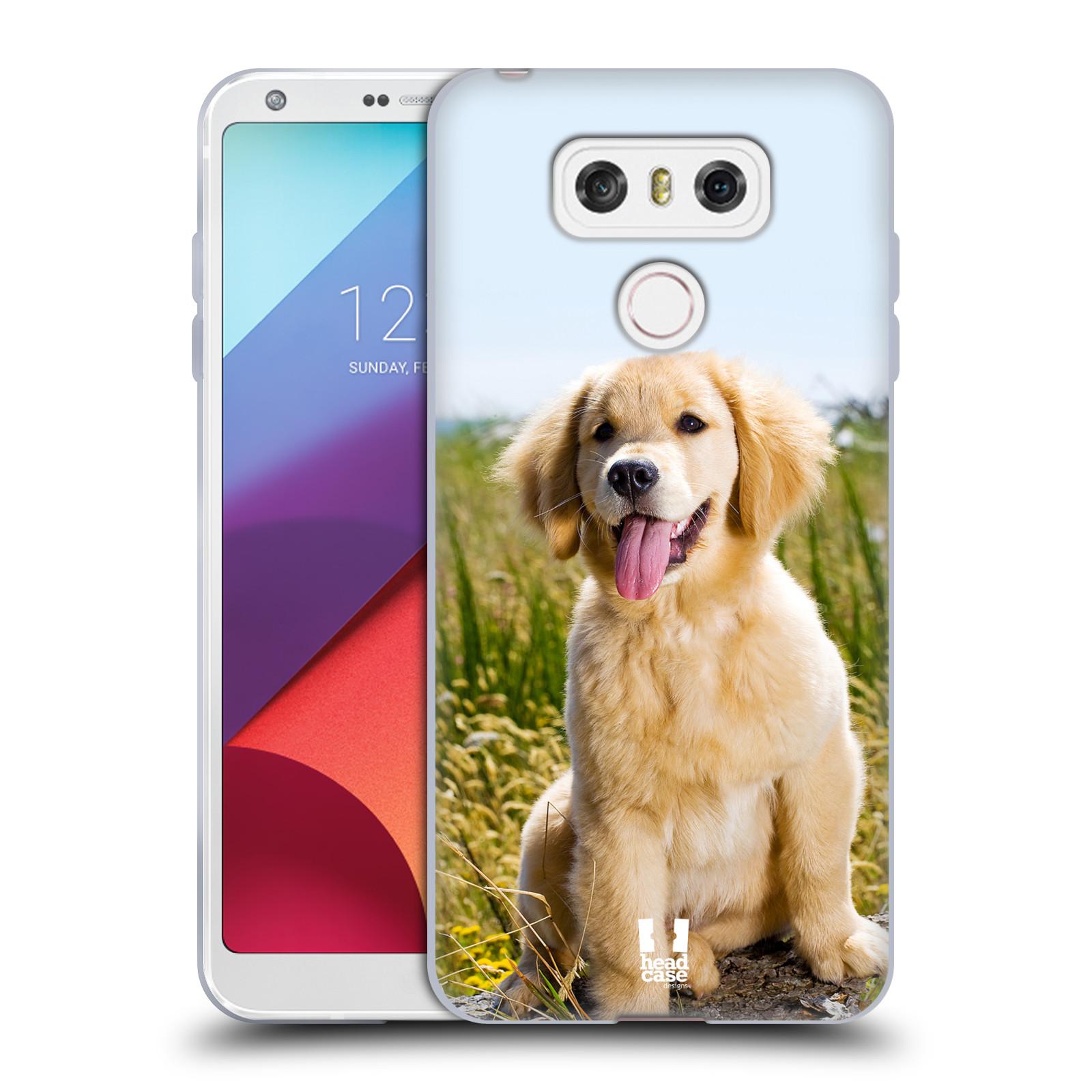 Silikonové pouzdro na mobil LG G6 - Head Case RETRÍVR (Silikonový kryt či obal na mobilní telefon LG G6 H870 / LG G6 Dual SIM H870DS)