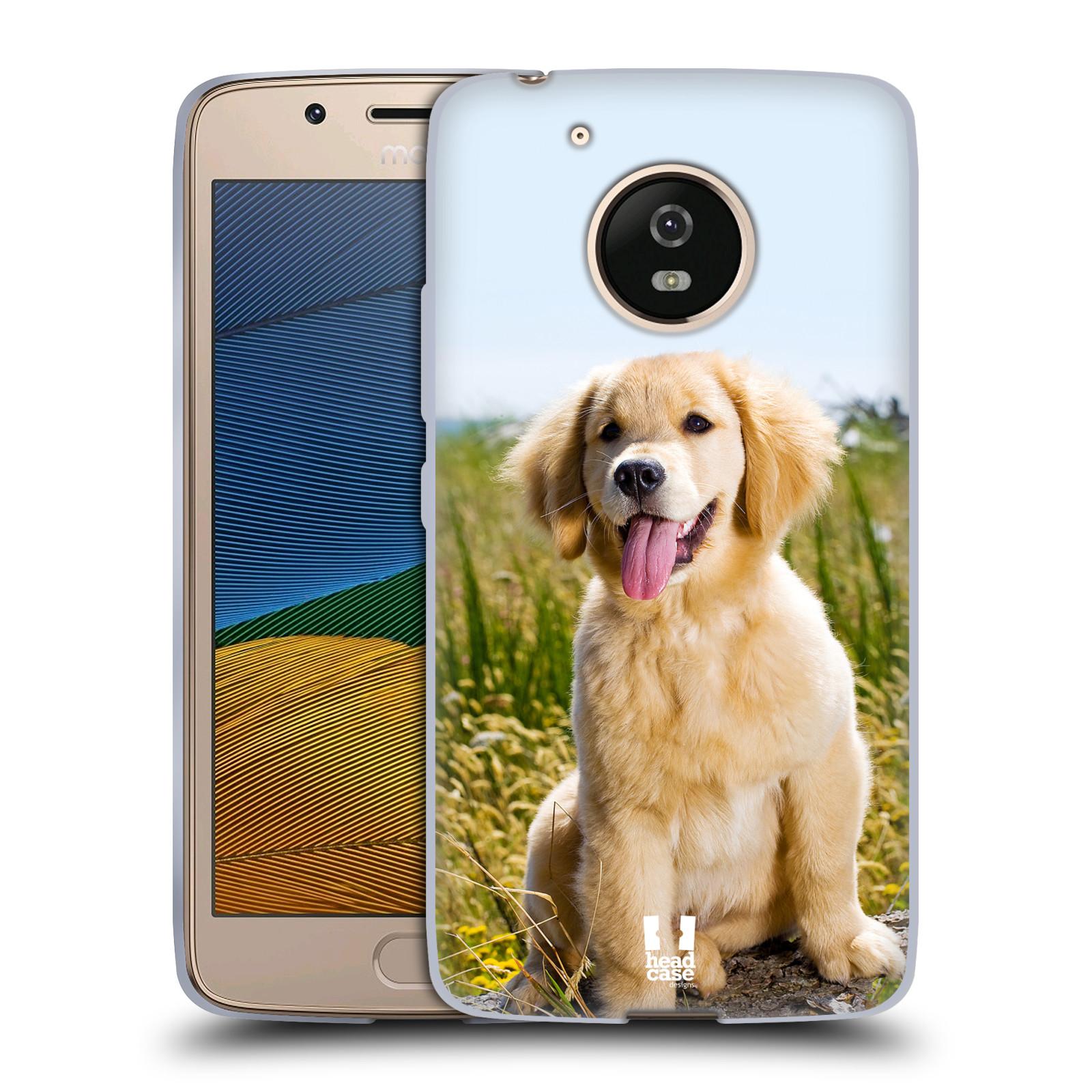 Silikonové pouzdro na mobil Lenovo Moto G5 - Head Case RETRÍVR (Silikonový kryt či obal na mobilní telefon Lenovo Moto G5)