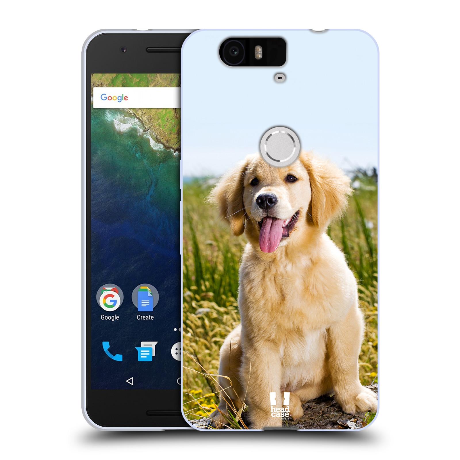 Silikonové pouzdro na mobil Huawei Nexus 6P HEAD CASE RETRÍVR (Silikonový kryt či obal na mobilní telefon Huawei Nexus 6P)