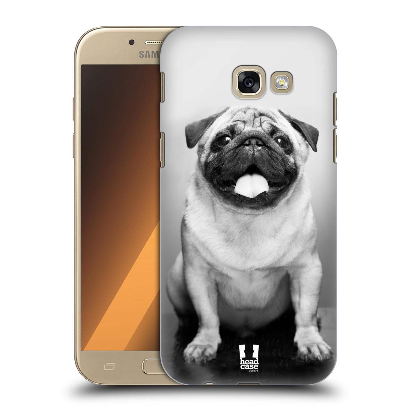 Plastové pouzdro na mobil Samsung Galaxy A5 (2017) HEAD CASE MOPSÍK