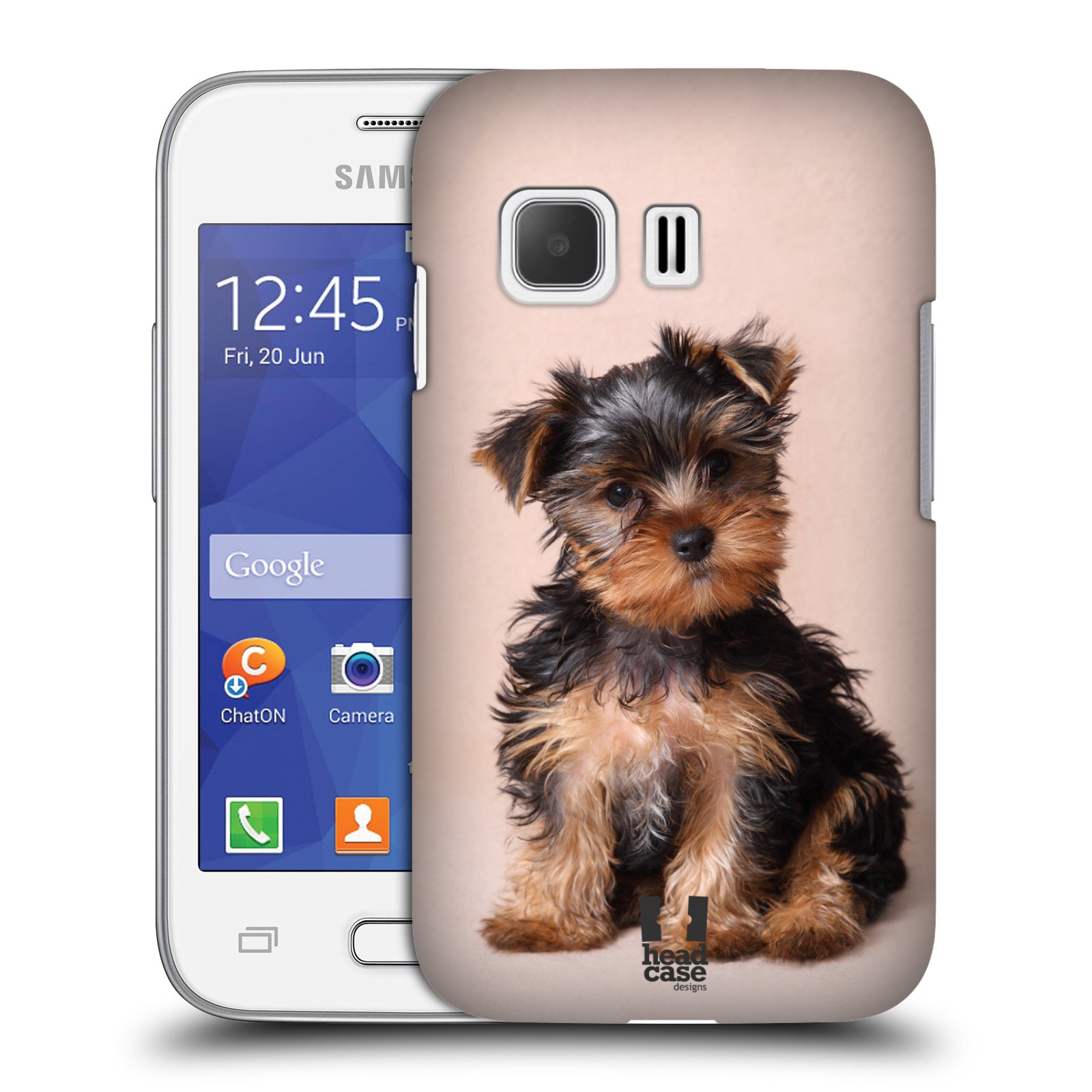 Plastové pouzdro na mobil Samsung Galaxy Young 2 HEAD CASE YORKŠÍR