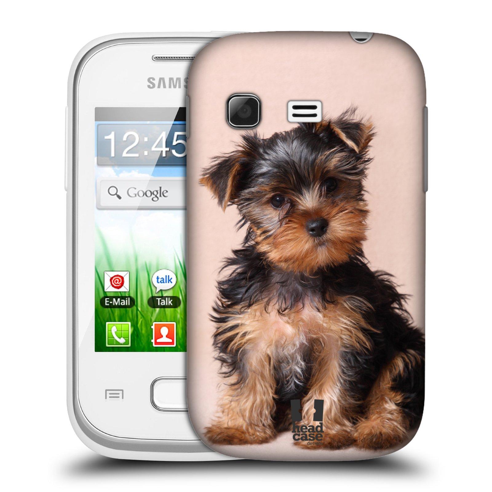 Plastové pouzdro na mobil Samsung Galaxy Pocket HEAD CASE YORKŠÍR (Kryt či obal na mobilní telefon Samsung Galaxy Pocket GT-S5300)
