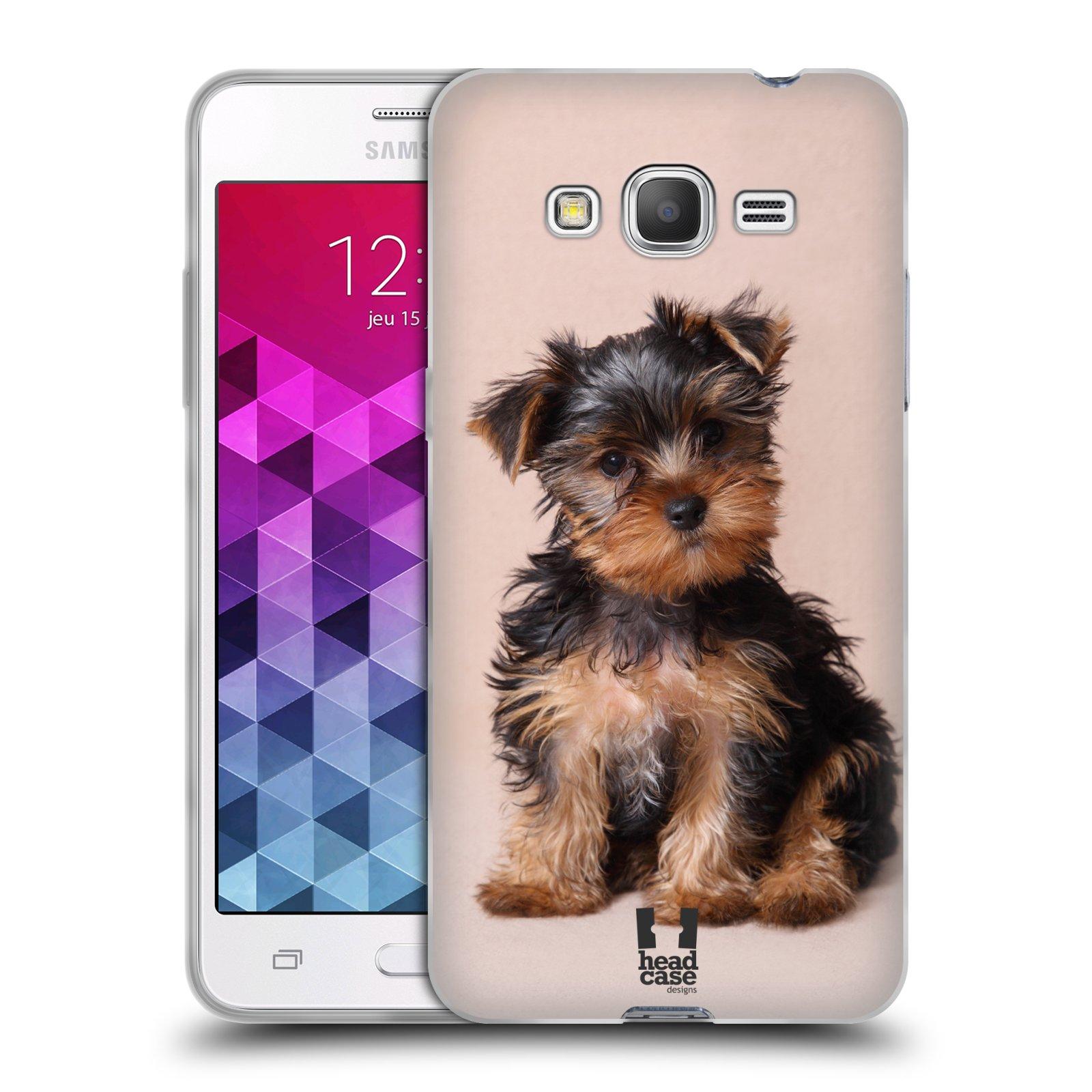 Silikonové pouzdro na mobil Samsung Galaxy Grand Prime VE HEAD CASE YORKŠÍR