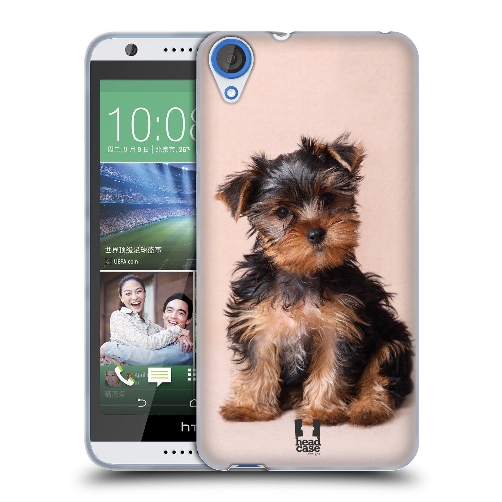 Silikonové pouzdro na mobil HTC Desire 820 HEAD CASE YORKŠÍR (Silikonový kryt či obal na mobilní telefon HTC Desire 820)