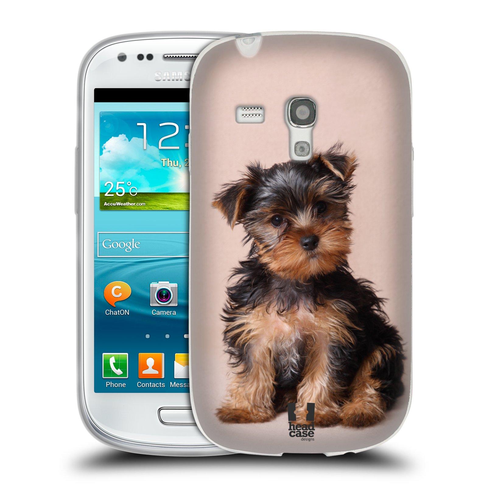 Silikonové pouzdro na mobil Samsung Galaxy S III Mini HEAD CASE YORKŠÍR (Silikonový kryt či obal na mobilní telefon Samsung Galaxy S III Mini GT-i8190)