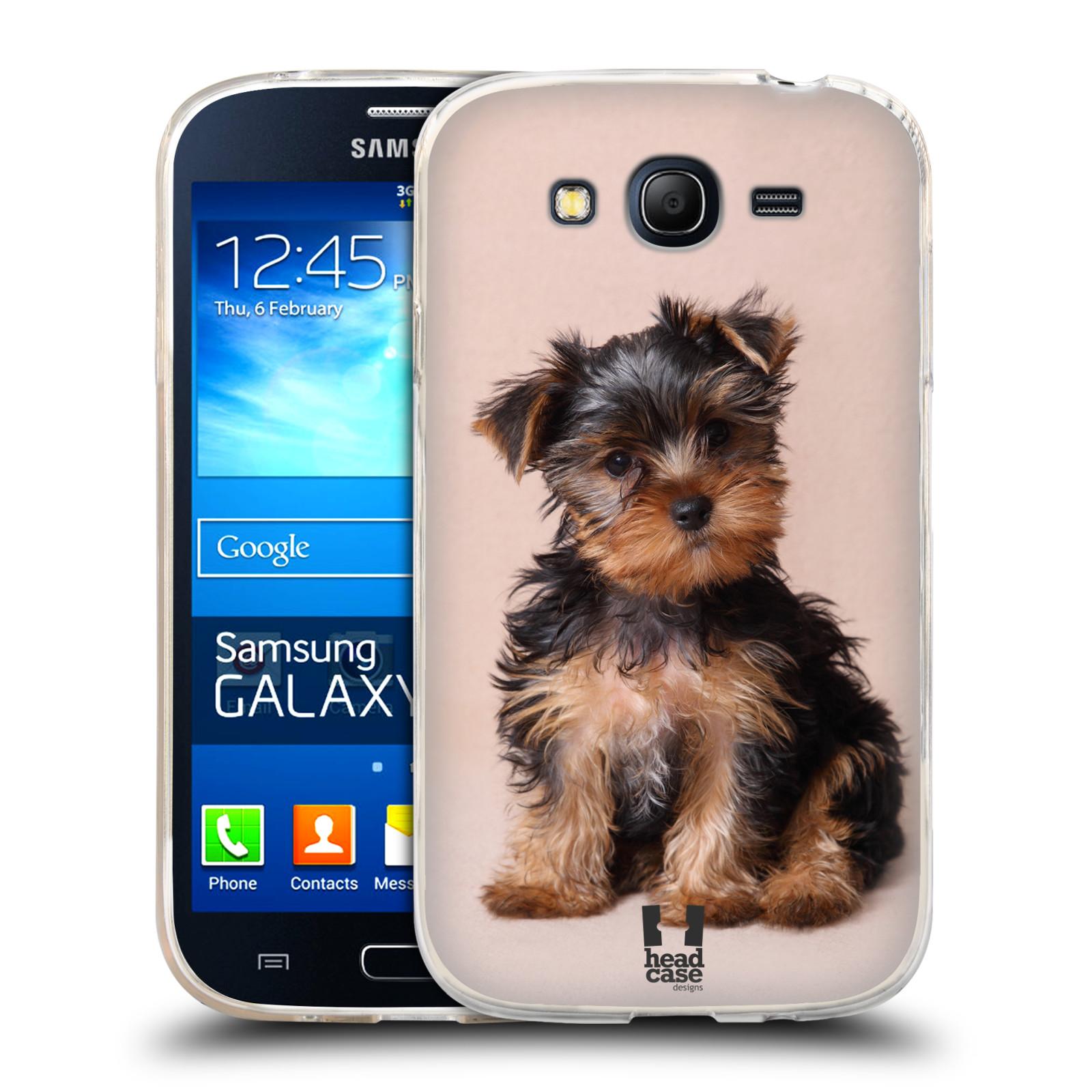 Silikonové pouzdro na mobil Samsung Galaxy Grand Neo Plus HEAD CASE YORKŠÍR (Silikonový kryt či obal na mobilní telefon Samsung Galaxy Grand Neo Plus Duos GT-I9060i)