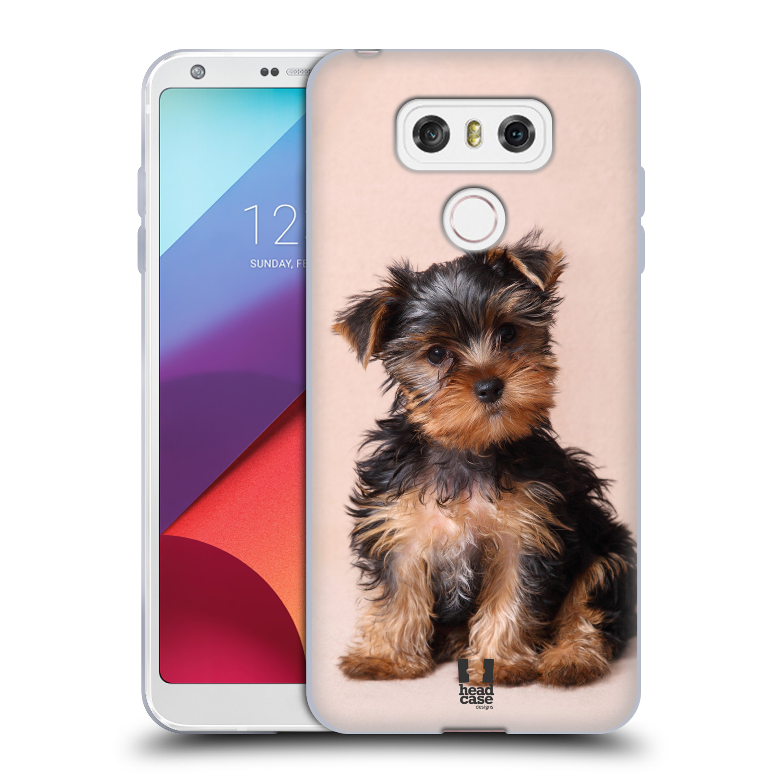 Silikonové pouzdro na mobil LG G6 - Head Case YORKŠÍR (Silikonový kryt či obal na mobilní telefon LG G6 H870 / LG G6 Dual SIM H870DS)