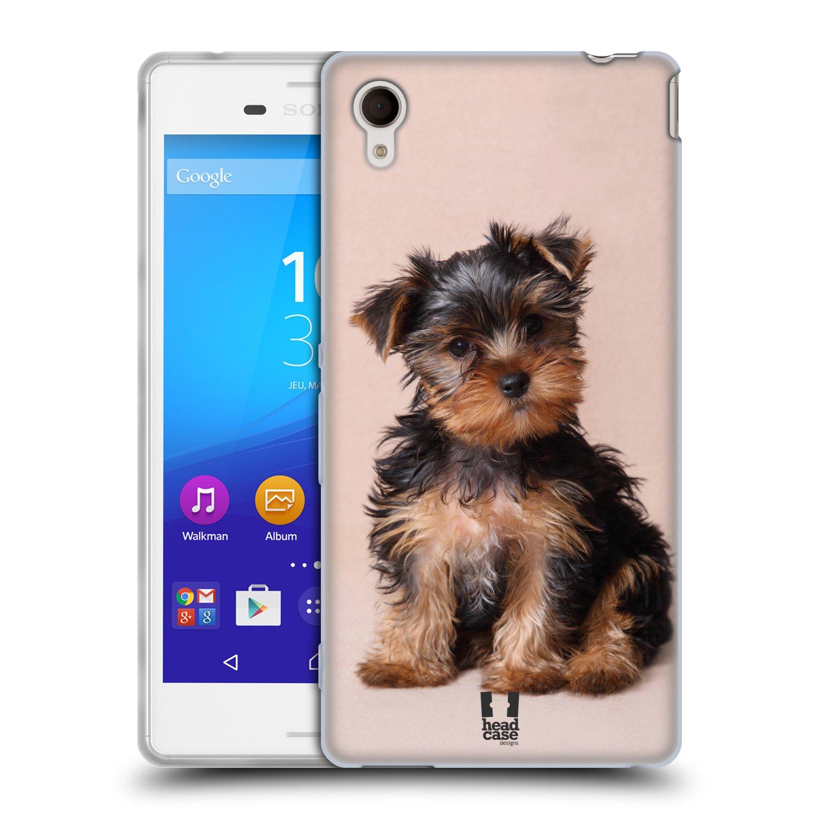 Silikonové pouzdro na mobil Sony Xperia M4 Aqua E2303 HEAD CASE YORKŠÍR (Silikonový kryt či obal na mobilní telefon Sony Xperia M4 Aqua a M4 Aqua Dual SIM)