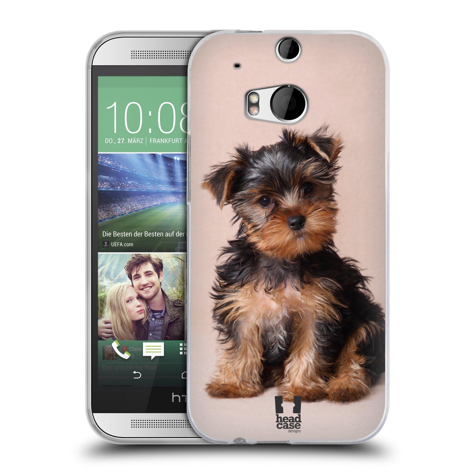 Silikonové pouzdro na mobil HTC ONE M8 HEAD CASE YORKŠÍR (Silikonový kryt či obal na mobilní telefon HTC ONE M8)