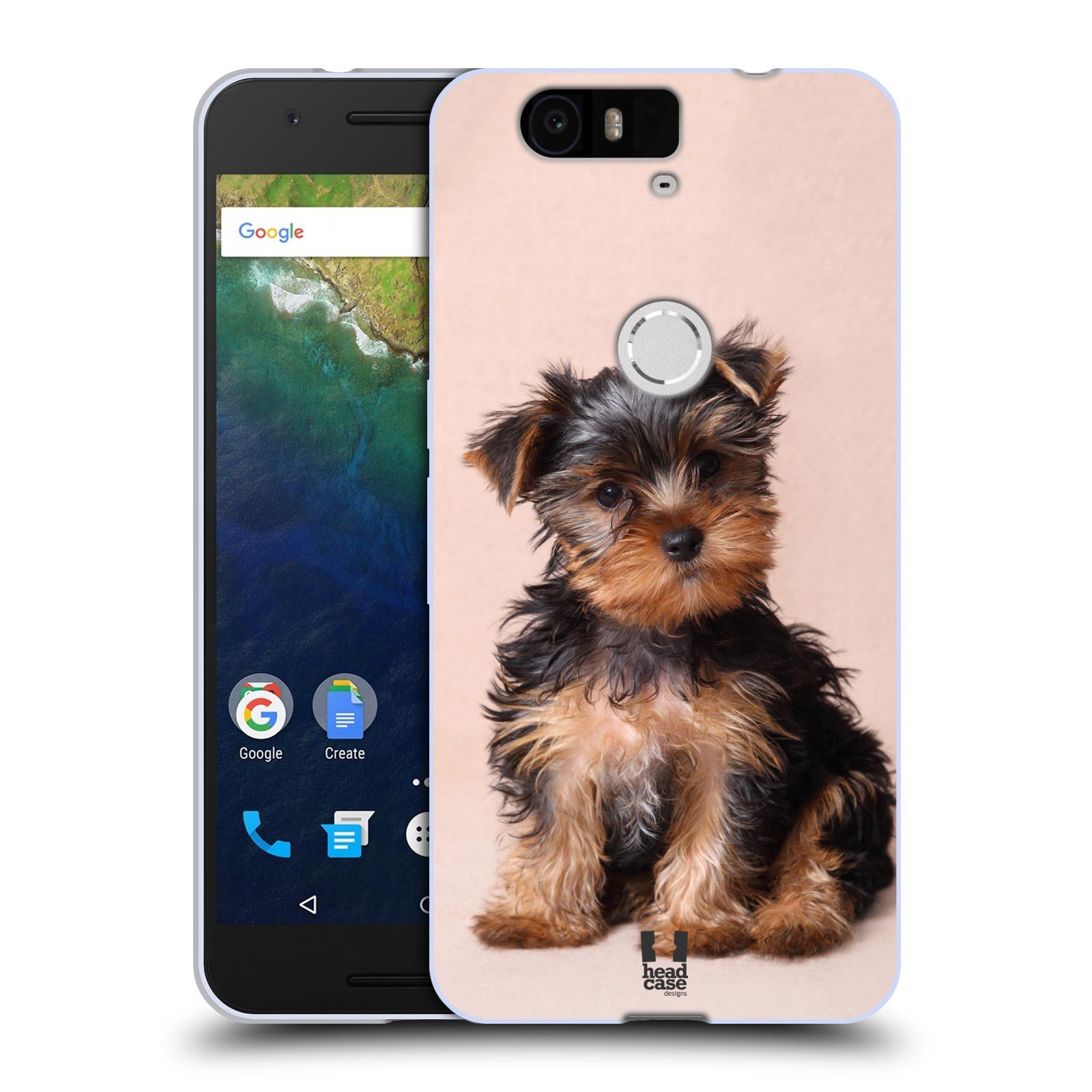 Silikonové pouzdro na mobil Huawei Nexus 6P HEAD CASE YORKŠÍR (Silikonový kryt či obal na mobilní telefon Huawei Nexus 6P)