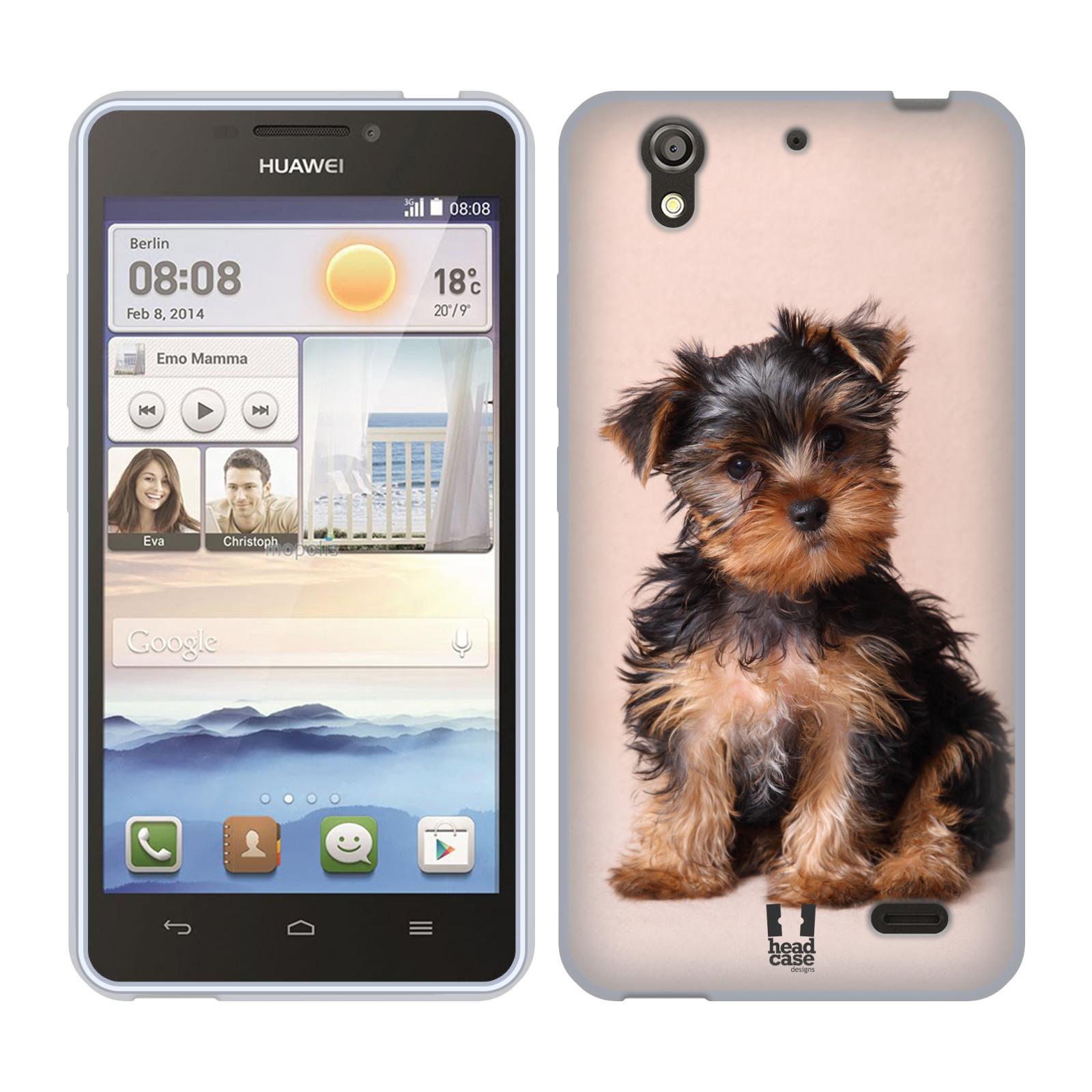 Silikonové pouzdro na mobil Huawei Ascend Y530 HEAD CASE YORKŠÍR (Silikonový kryt či obal na mobilní telefon Huawei Ascend Y530)